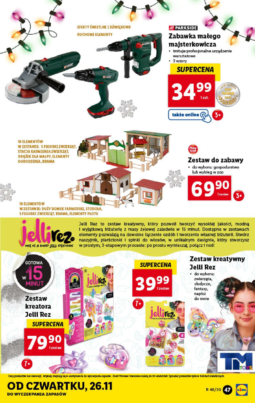 Gazetka Lidl - Katalog od 23.11-22.11.2020-28.11.2020-page-47