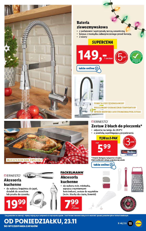 Gazetka Lidl - Katalog od 23.11-22.11.2020-28.11.2020-page-15