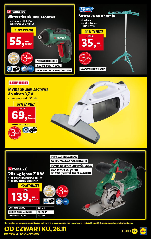 Gazetka Lidl - Katalog od 23.11-22.11.2020-28.11.2020-page-27