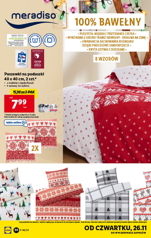 Gazetka Lidl - Katalog od 23.11-22.11.2020-28.11.2020-page-30