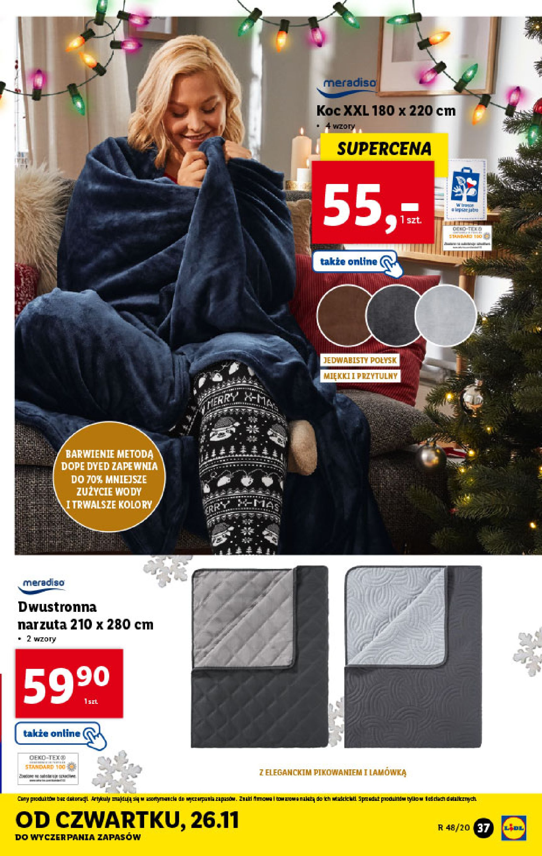 Gazetka Lidl - Katalog od 23.11-22.11.2020-28.11.2020-page-37