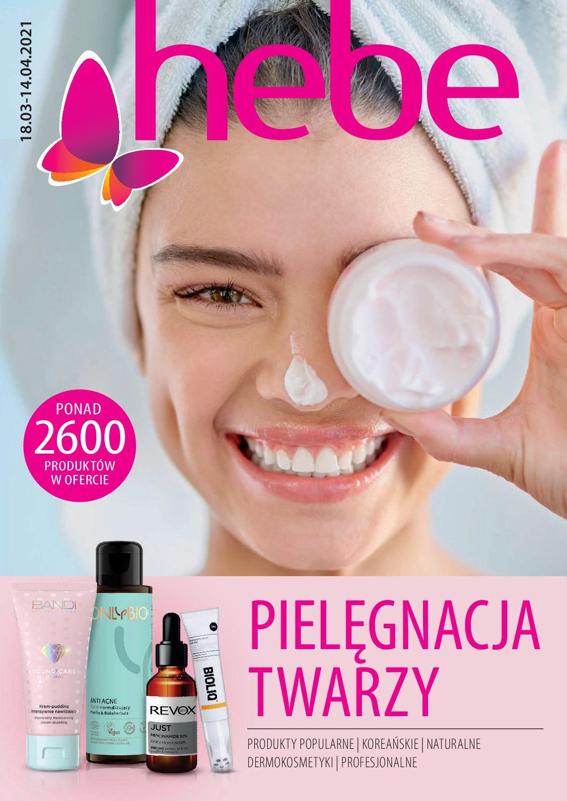 hebe:  Katalog - Face care 17.03.2021
