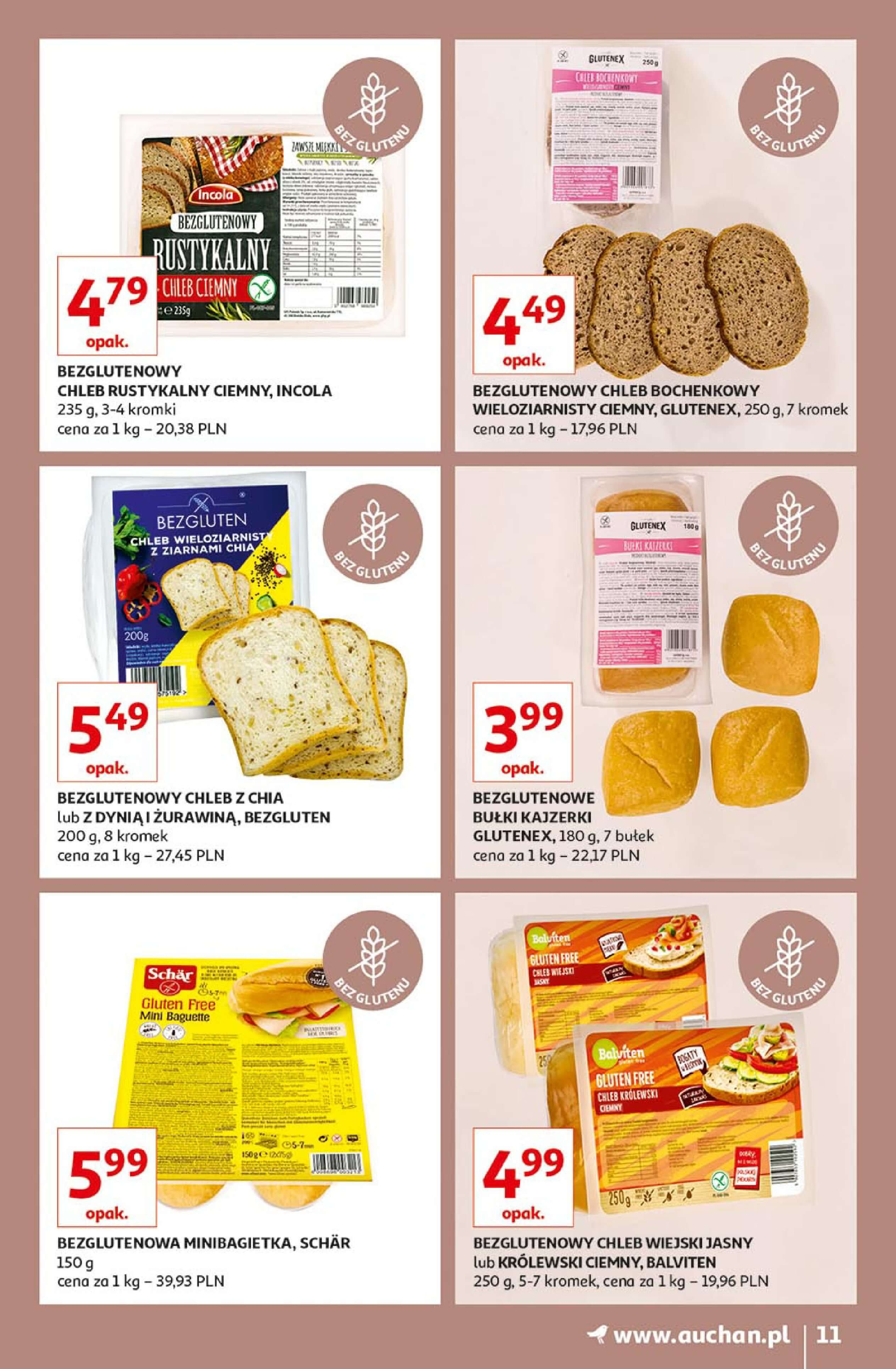 Gazetka Auchan - Piekarnia Hipermarkety-09.01.2019-23.01.2019-page-
