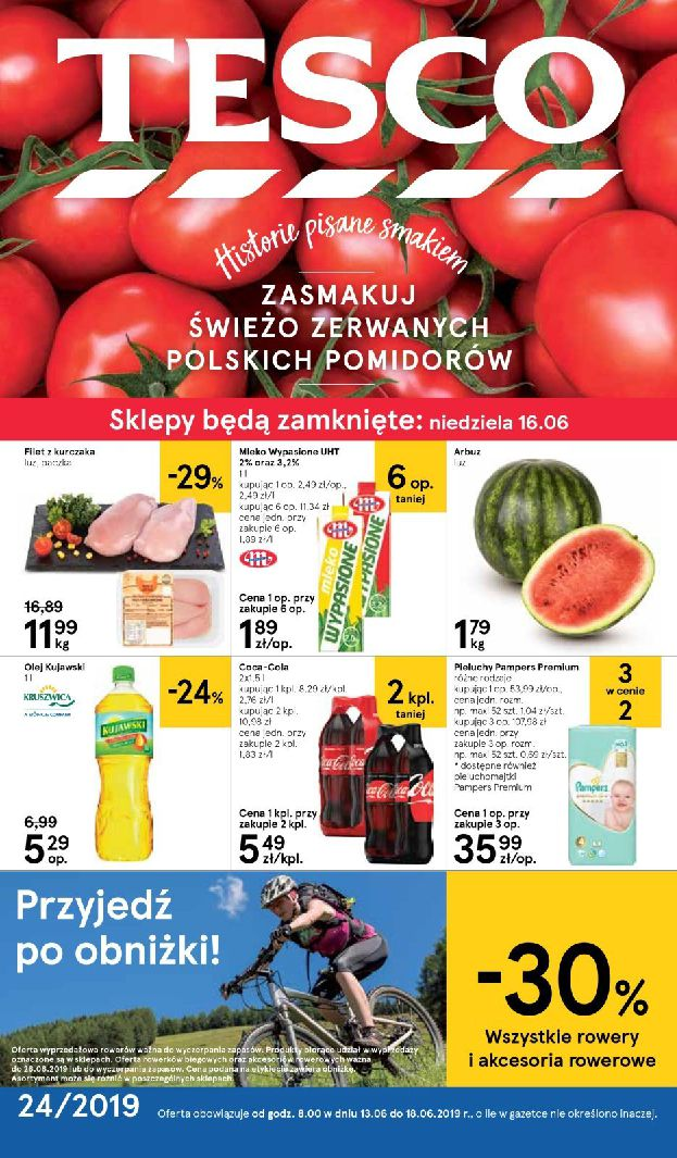 Gazetka Tesco - Oferta na art. spożywcze i kosmetyki-12.06.2019-18.06.2019-page-