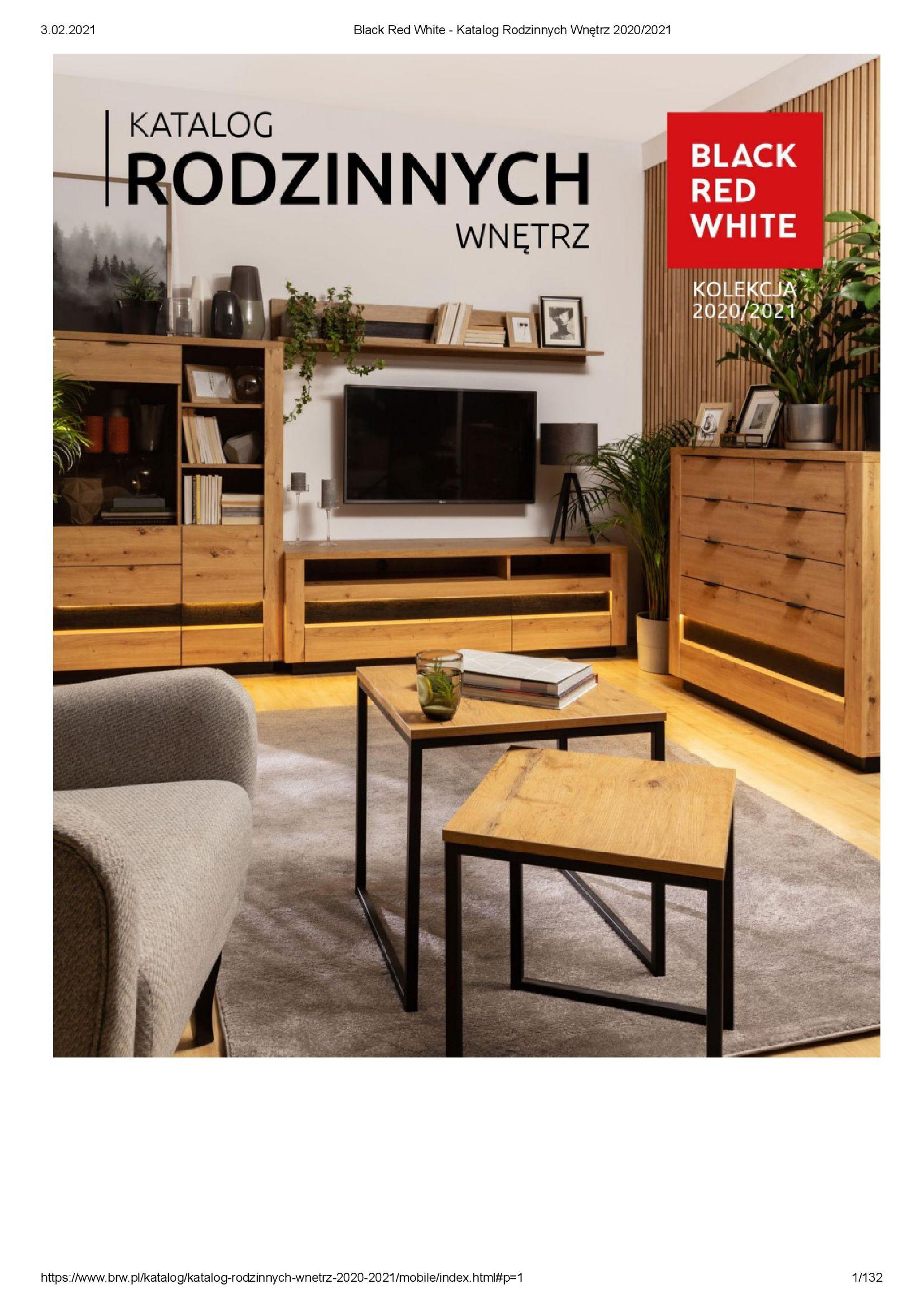 Black Red White:  Katalog rodzinnych wnętrz 31.12.2020