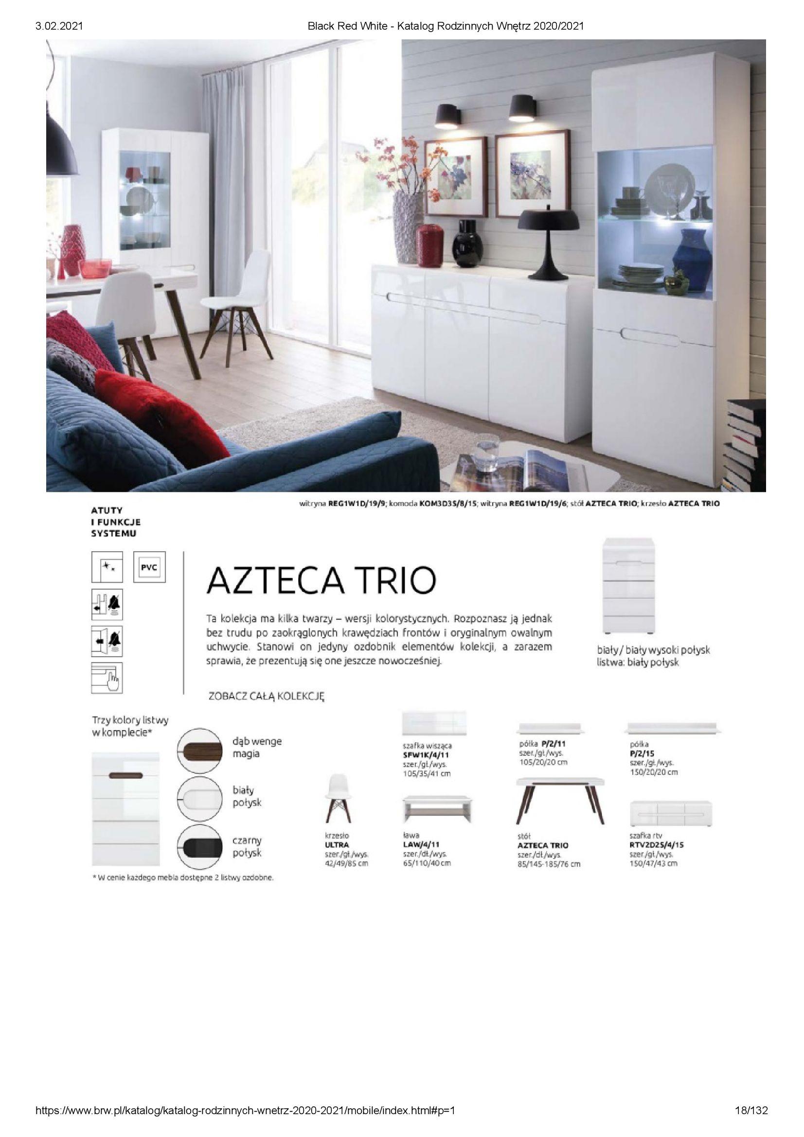 Gazetka Black Red White: Katalog rodzinnych wnętrz 2021-01-01 page-18