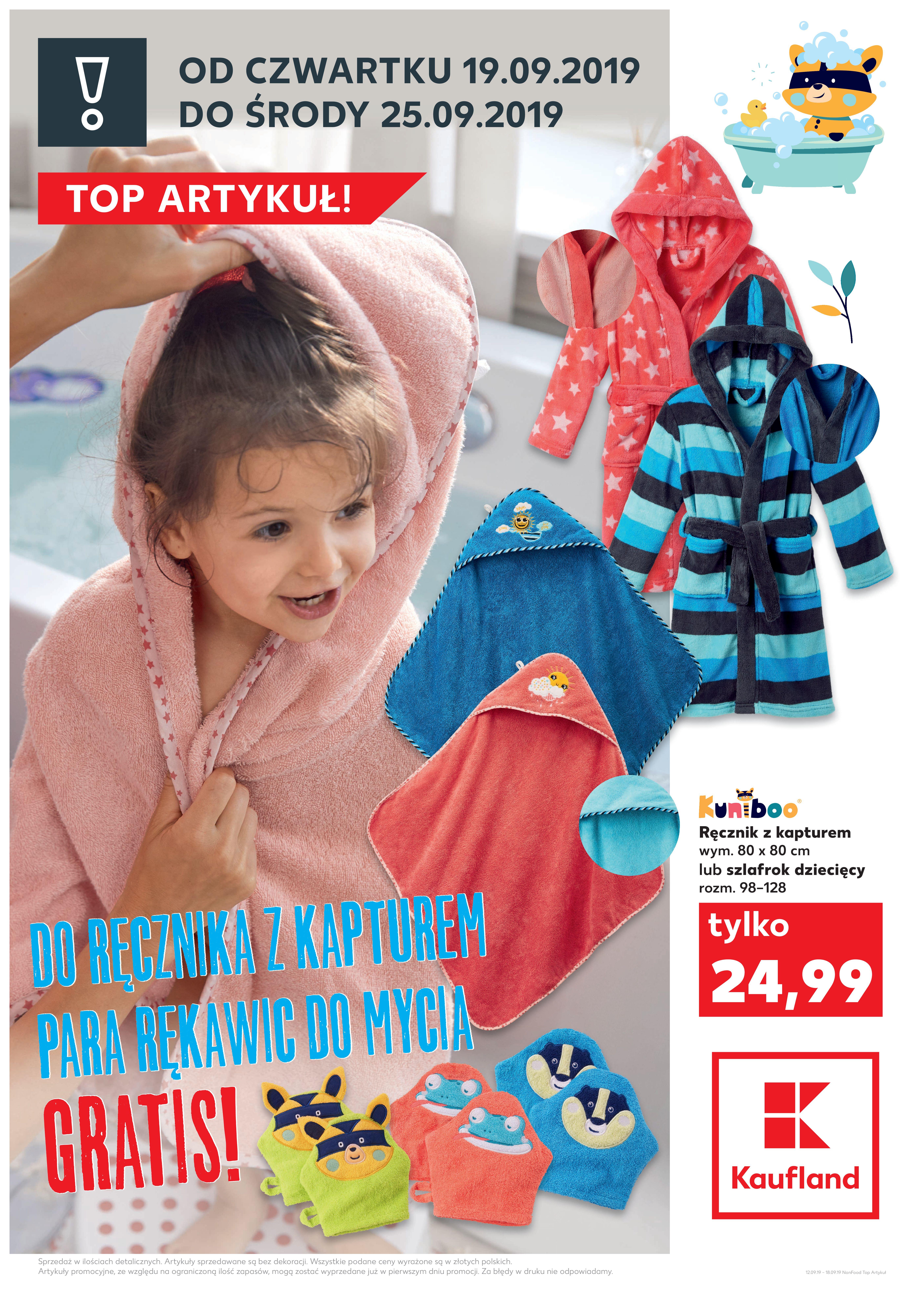 Gazetka Kaufland - TOP ARTYKUŁ!-18.09.2019-25.09.2019-page-1