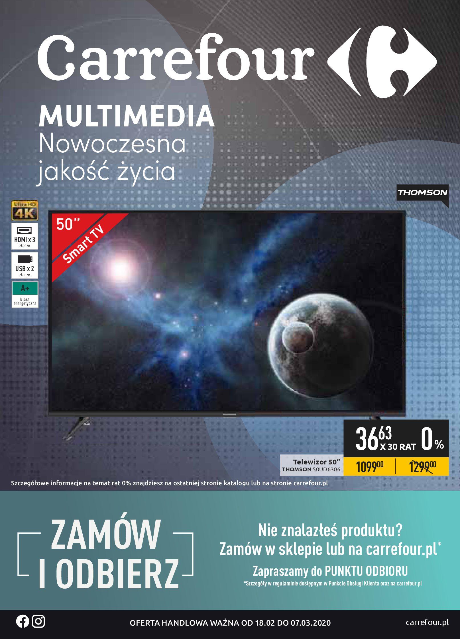 Gazetka Carrefour - Oferta promocyjna-17.02.2020-07.03.2020-page-1