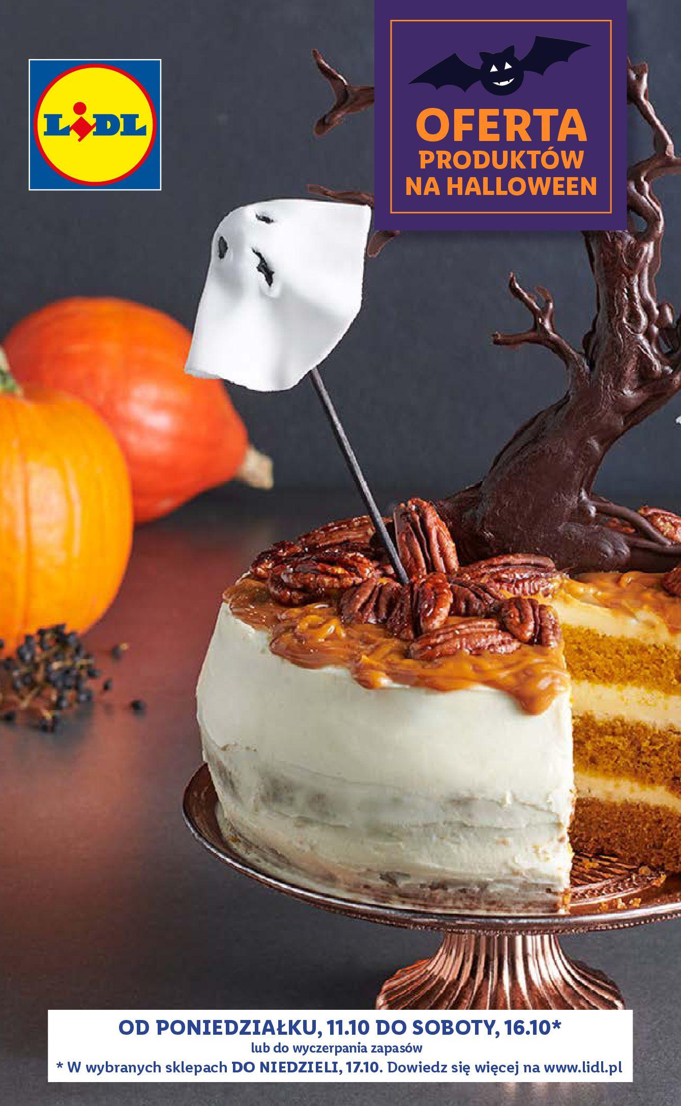 Gazetka Lidl: Gazetka Lidl - Produkty na Halloween - 10.10.2021