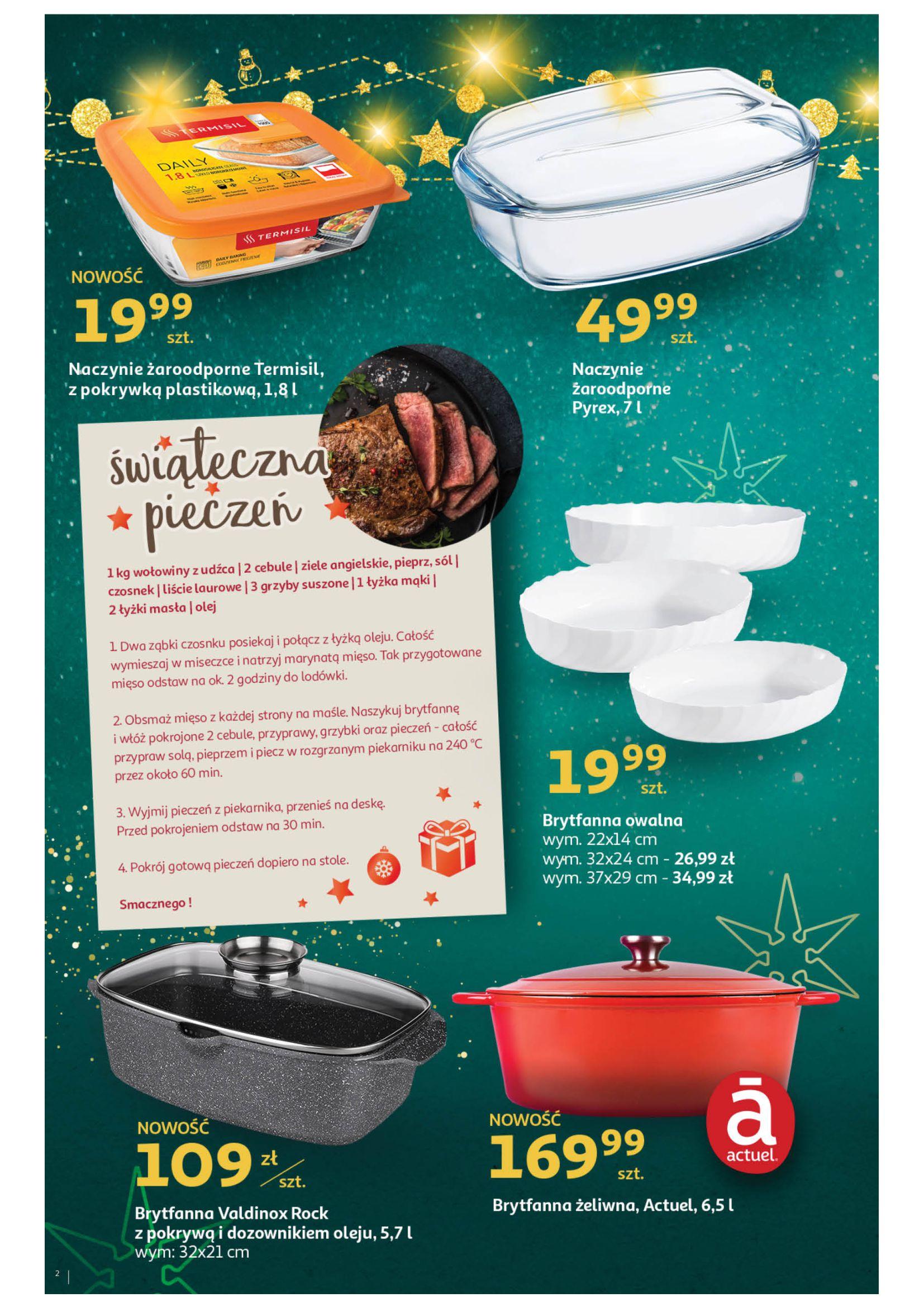 Gazetka Auchan: Świąteczne wypieki Hipermarkety 2020-11-16 page-2