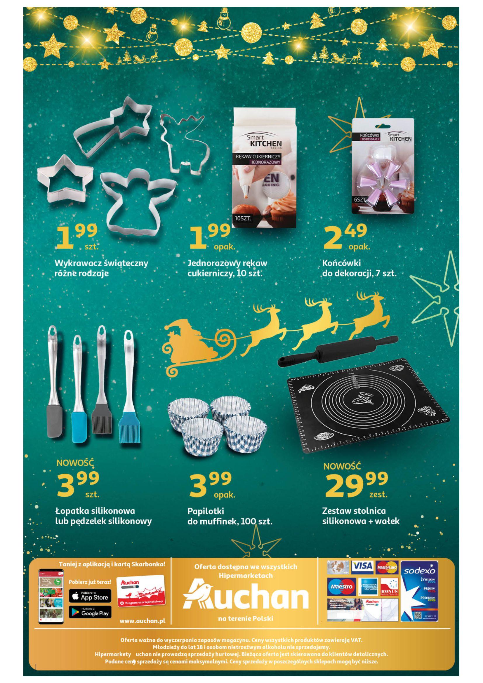 Gazetka Auchan: Świąteczne wypieki Hipermarkety 2020-11-16 page-4