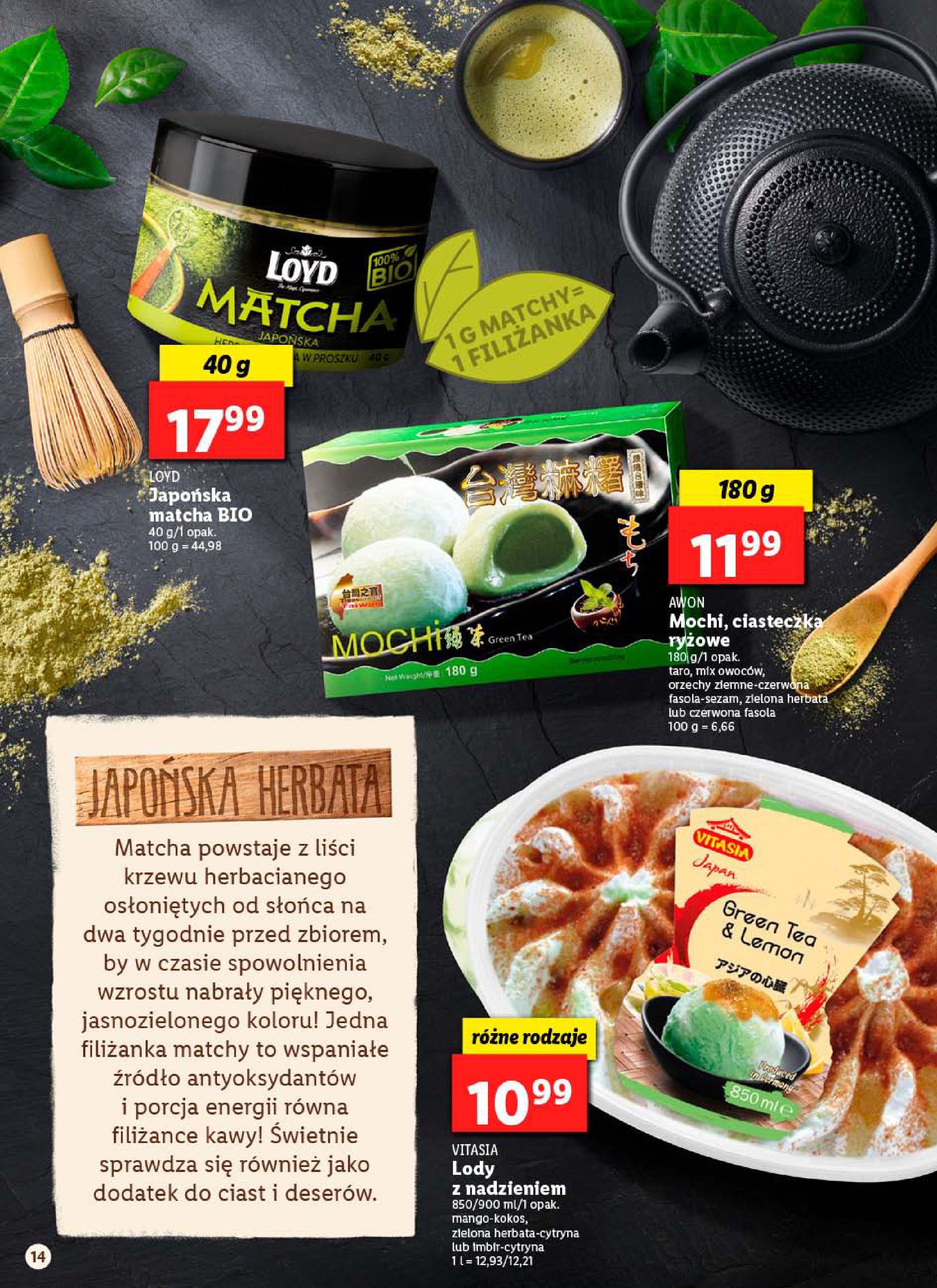 Gazetka Lidl - Od poniedziałku-12.01.2020-18.01.2020-page-14