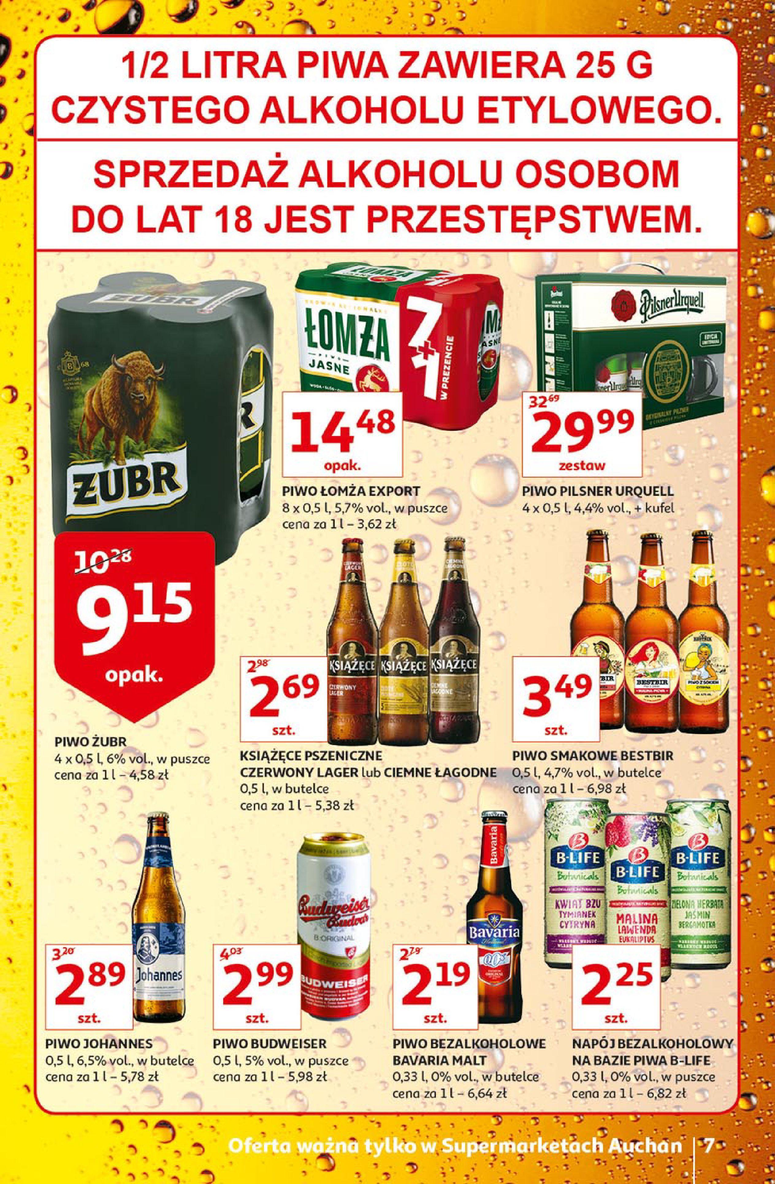 Gazetka Auchan - Auchan Supermarket - Promocje-12.06.2019-19.06.2019-page-