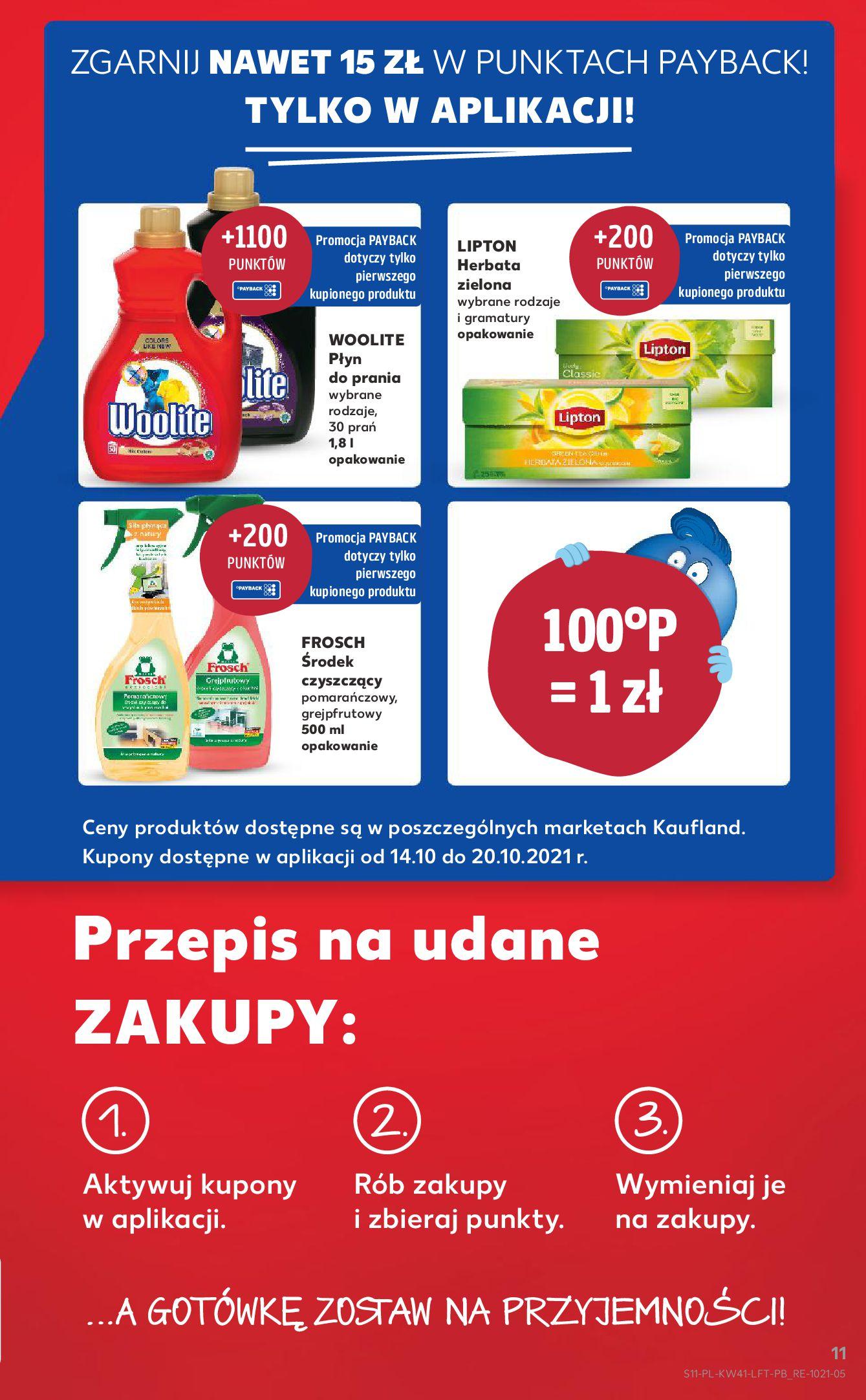 Gazetka Kaufland: Gazetka Kaufland 14-20.10. 2021-10-14 page-11