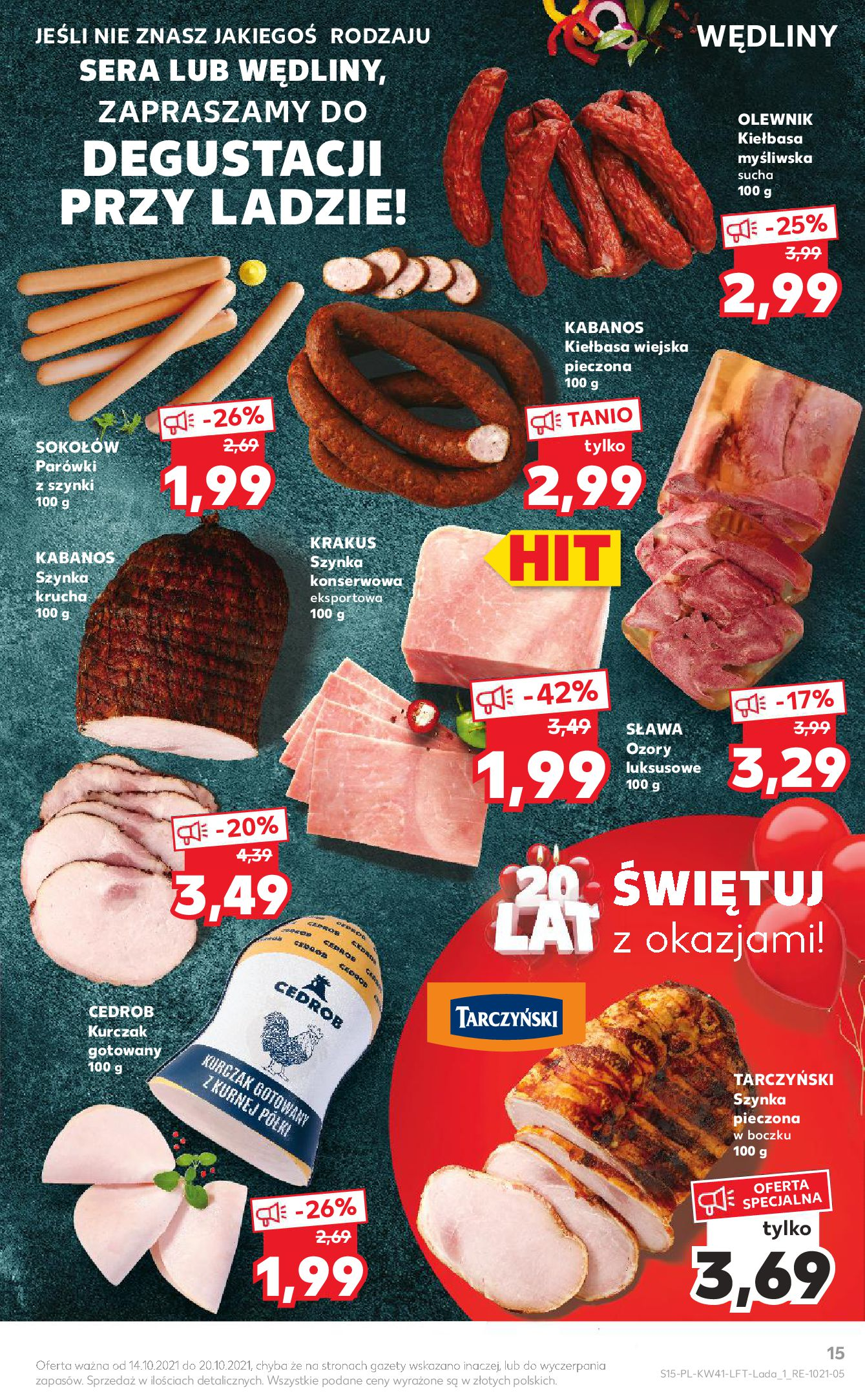 Gazetka Kaufland: Gazetka Kaufland 14-20.10. 2021-10-14 page-15