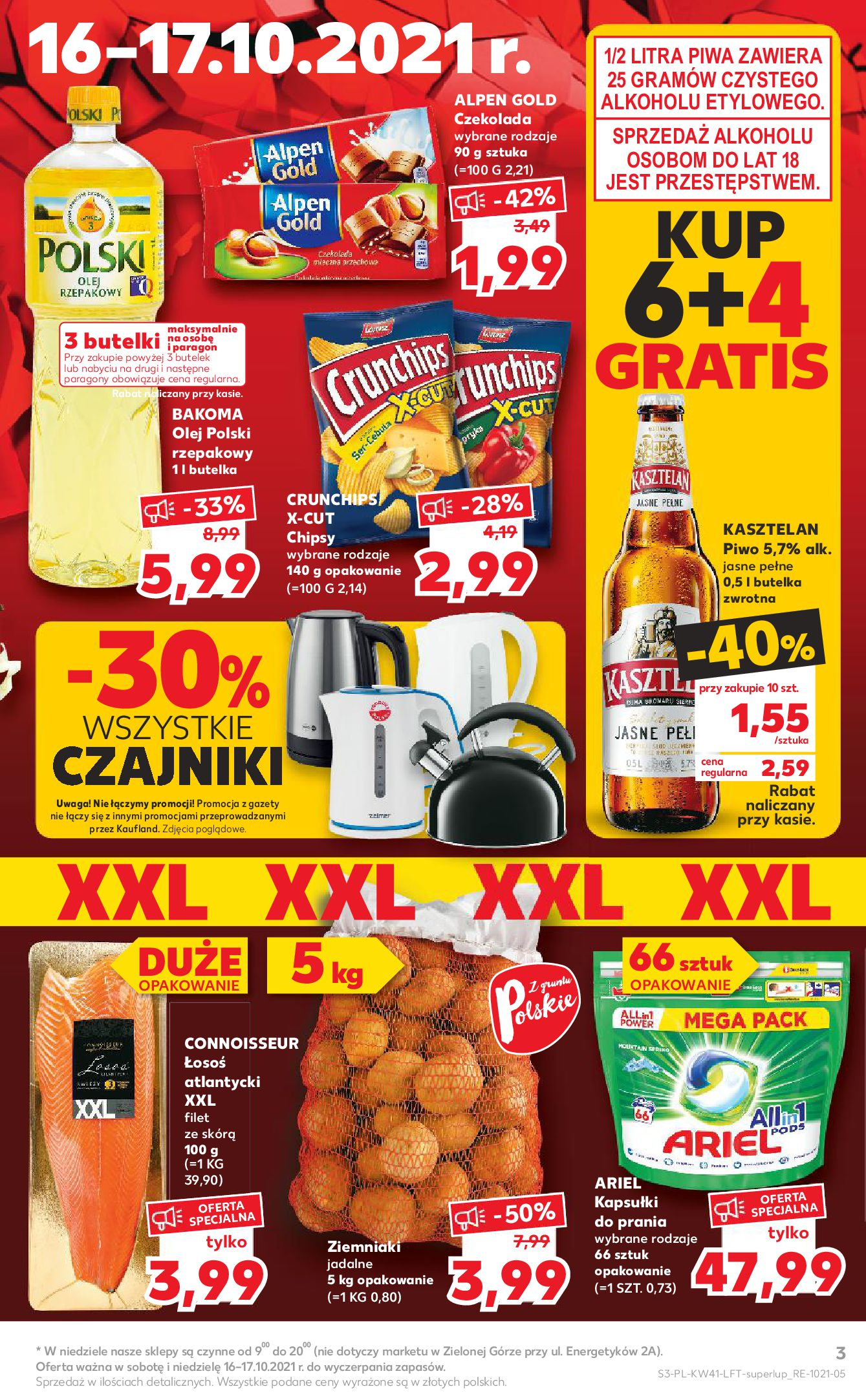 Gazetka Kaufland: Gazetka Kaufland 14-20.10. 2021-10-14 page-3
