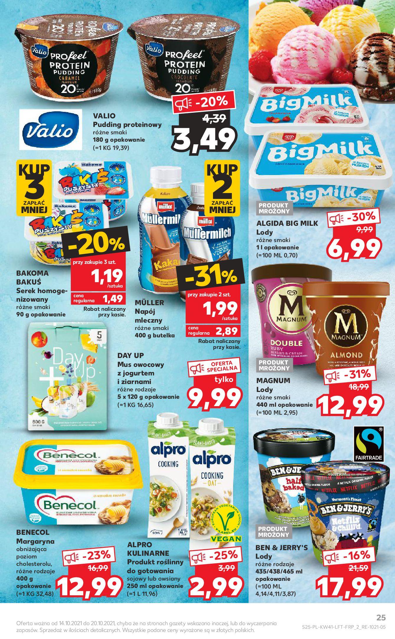 Gazetka Kaufland: Gazetka Kaufland 14-20.10. 2021-10-14 page-25