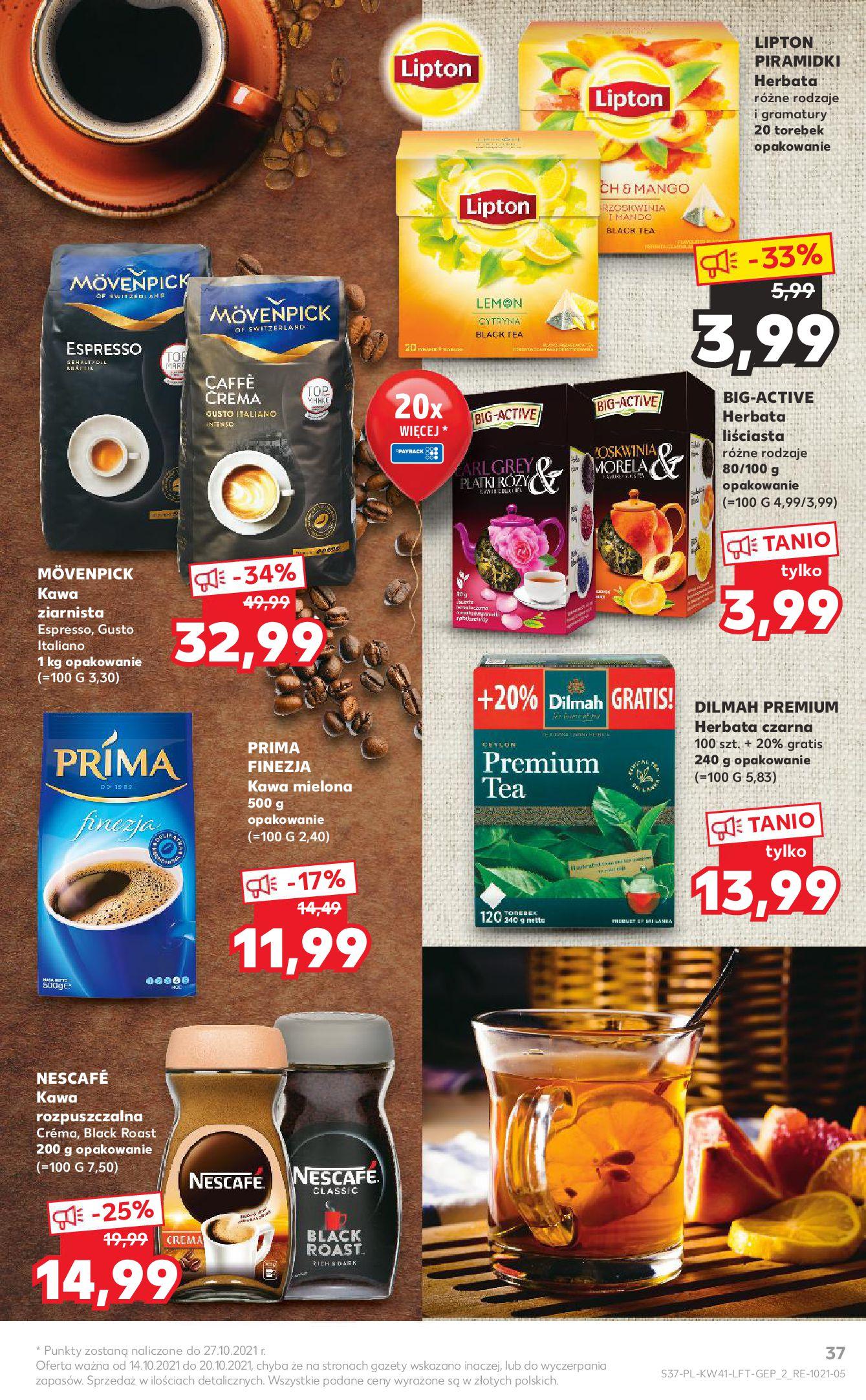 Gazetka Kaufland: Gazetka Kaufland 14-20.10. 2021-10-14 page-37