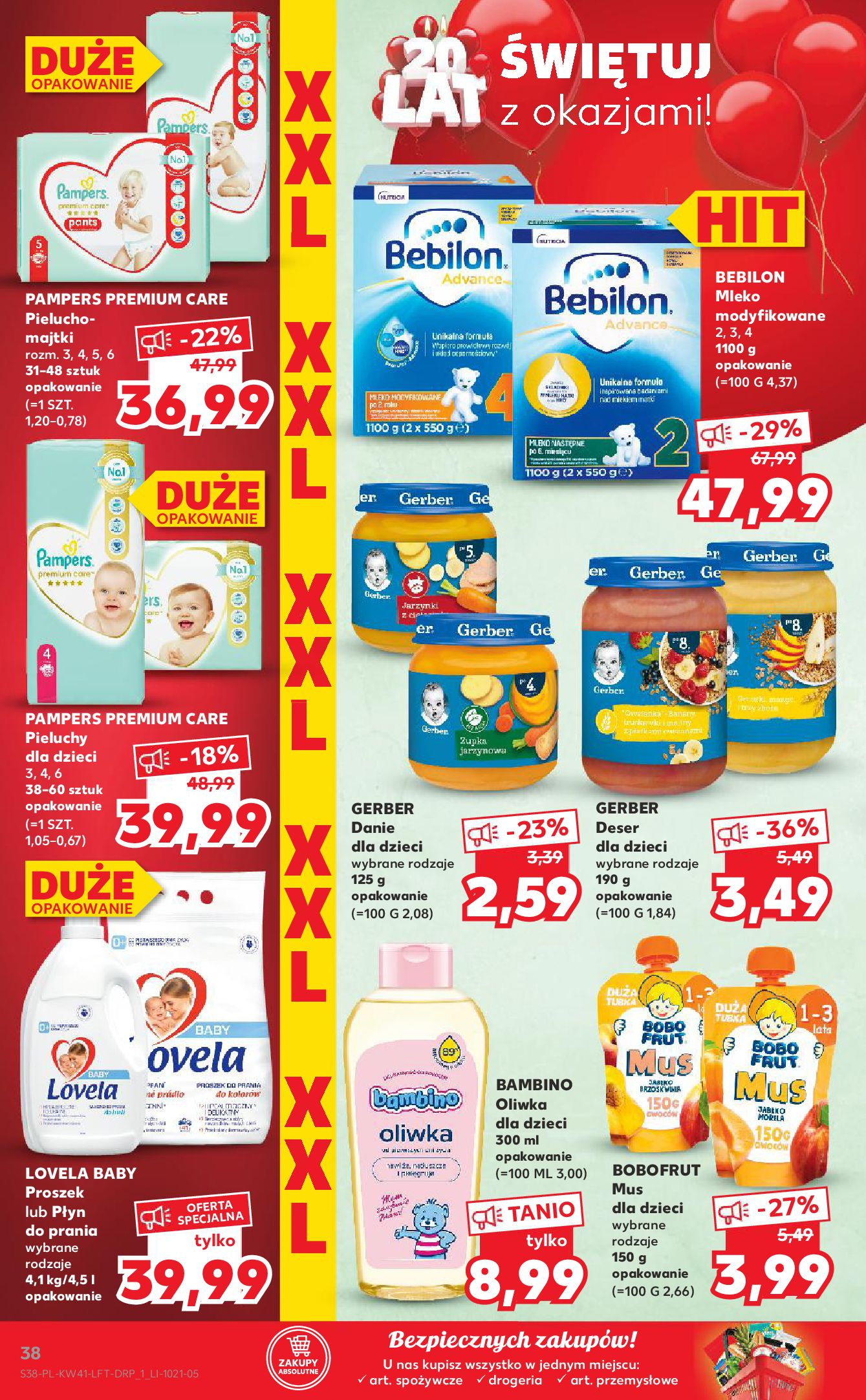 Gazetka Kaufland: Gazetka Kaufland 14-20.10. 2021-10-14 page-38