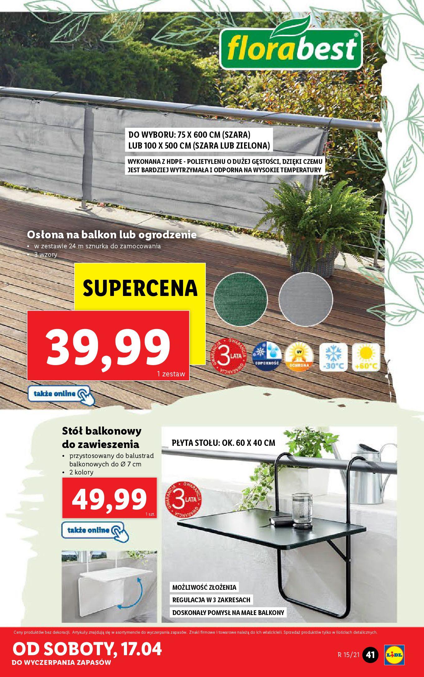 Gazetka Lidl: Katalog Lidla od 12.04 2021-04-12 page-41