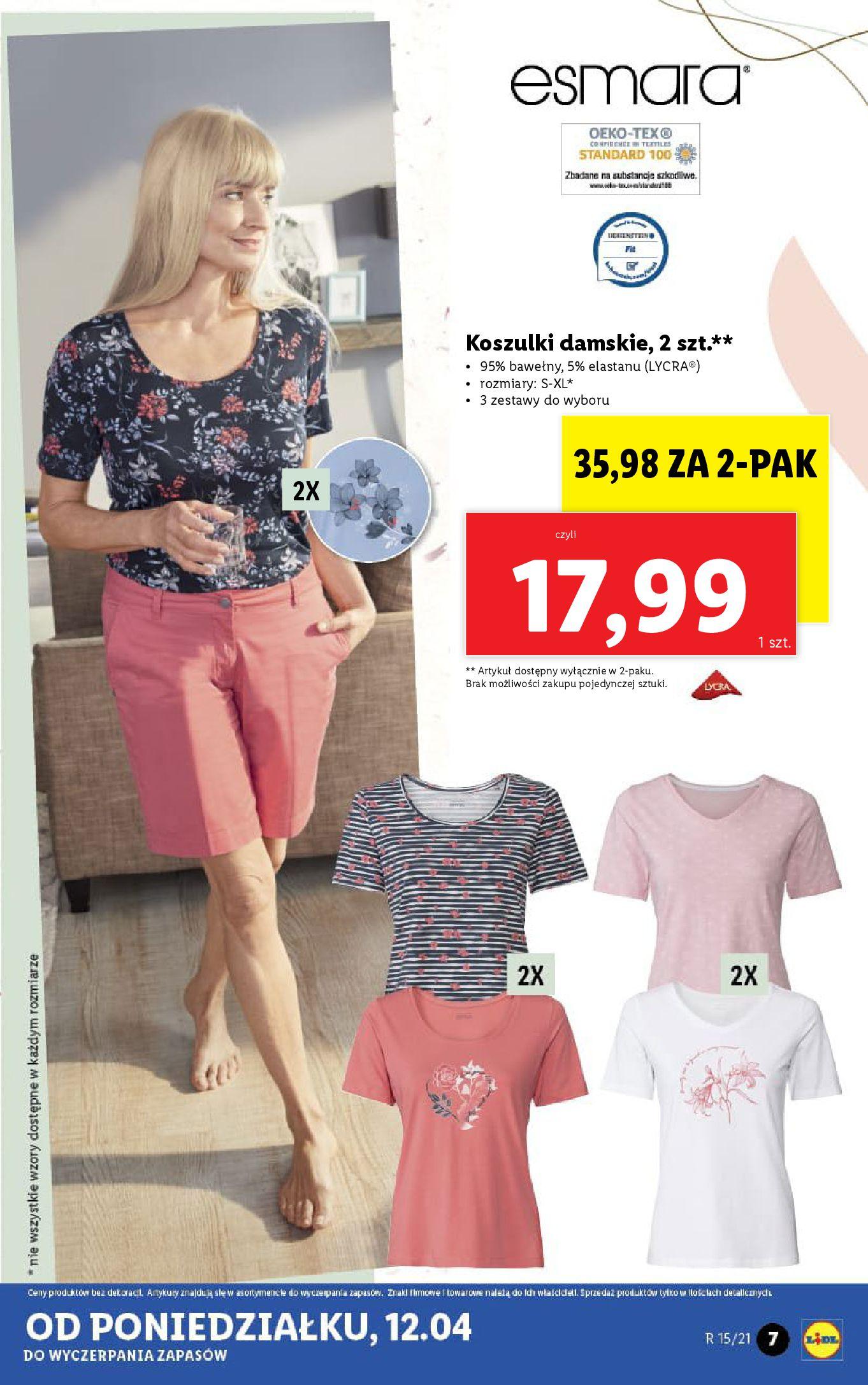 Gazetka Lidl: Katalog Lidla od 12.04 2021-04-12 page-7