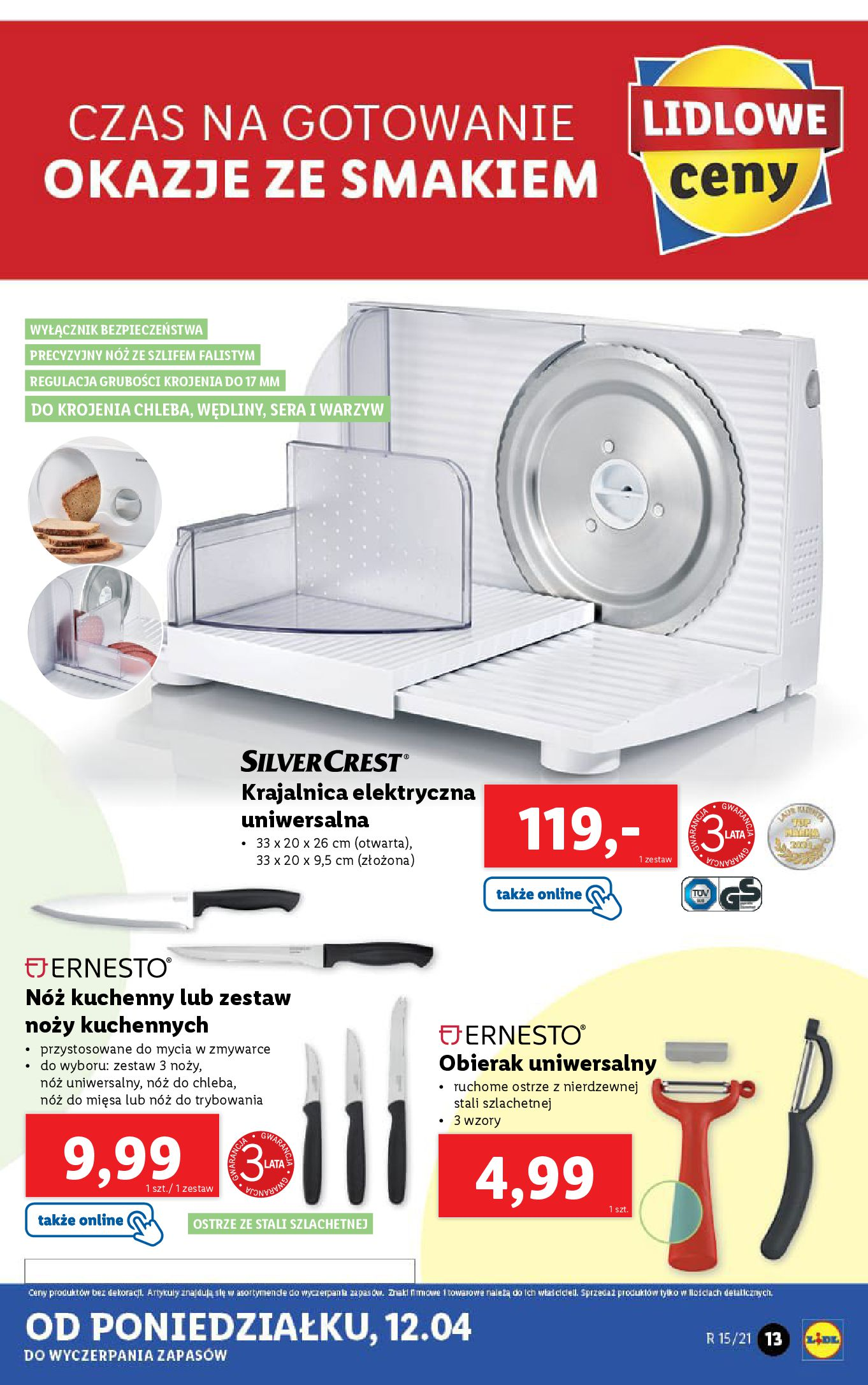 Gazetka Lidl: Katalog Lidla od 12.04 2021-04-12 page-13