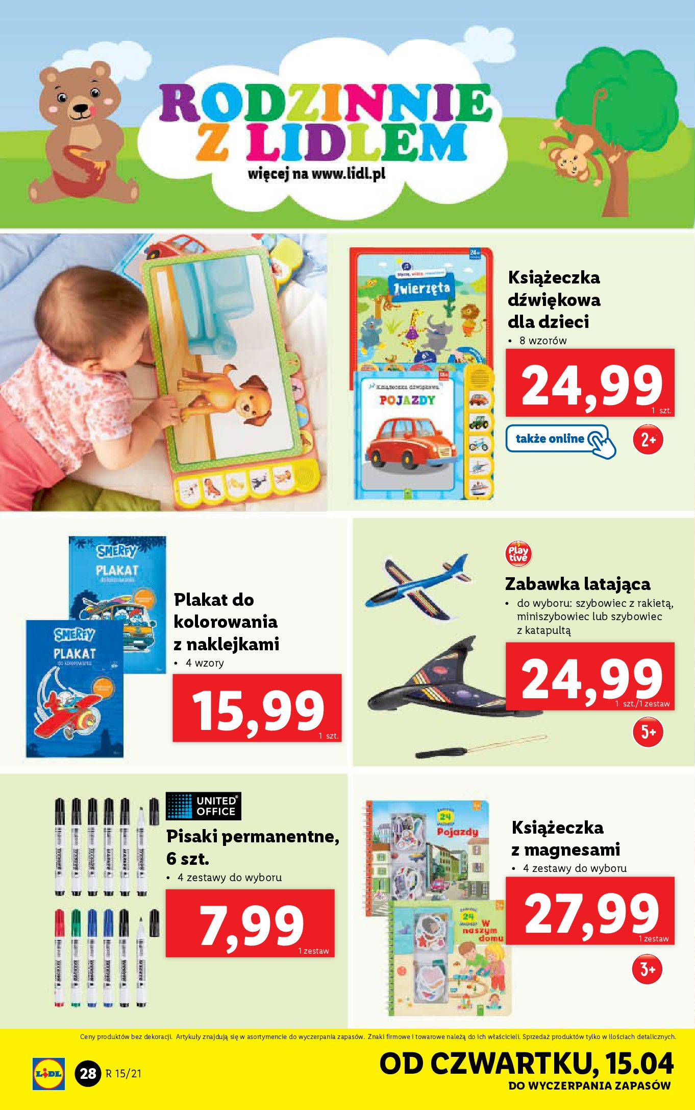 Gazetka Lidl: Katalog Lidla od 12.04 2021-04-12 page-28