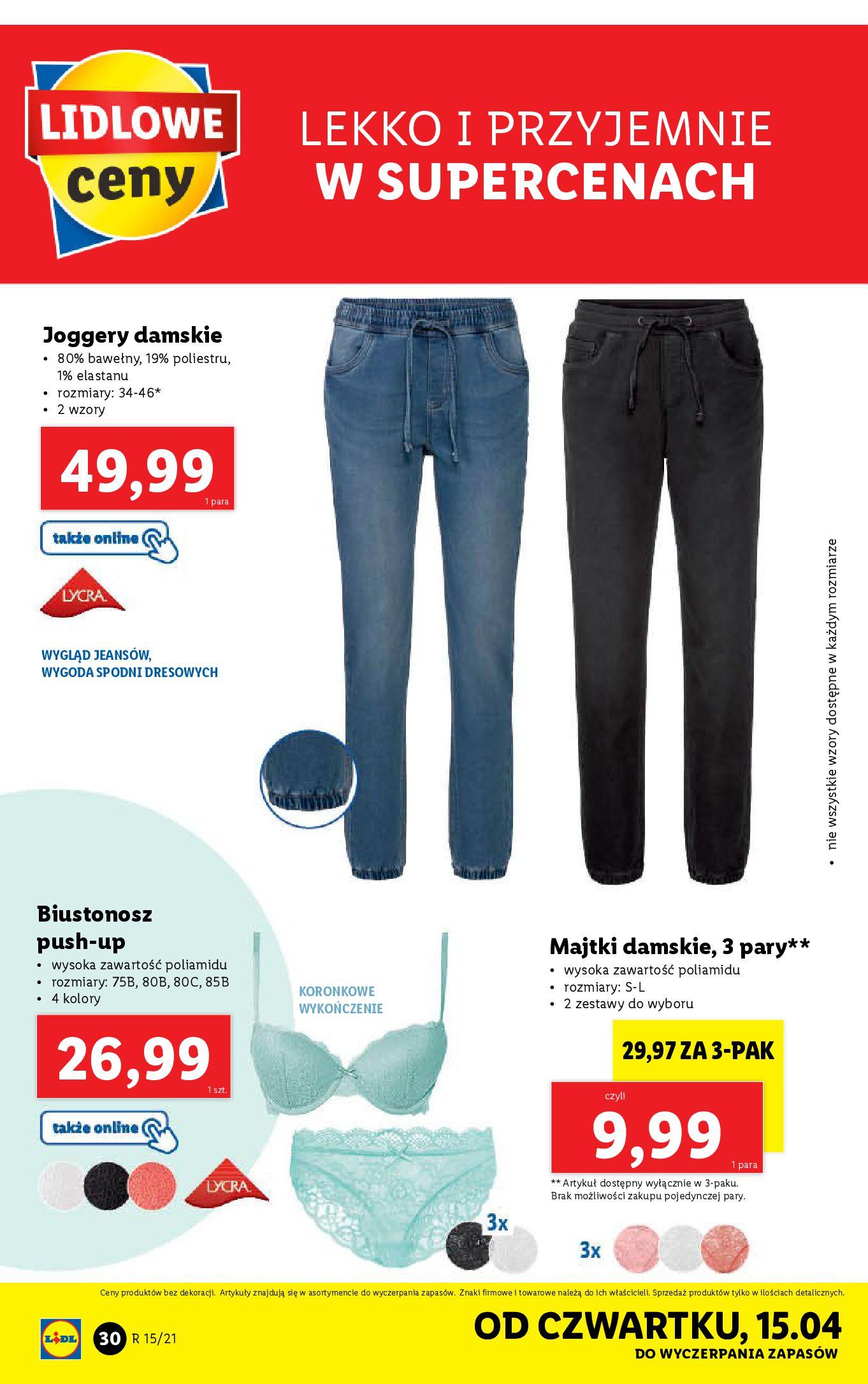Gazetka Lidl: Katalog Lidla od 12.04 2021-04-12 page-30