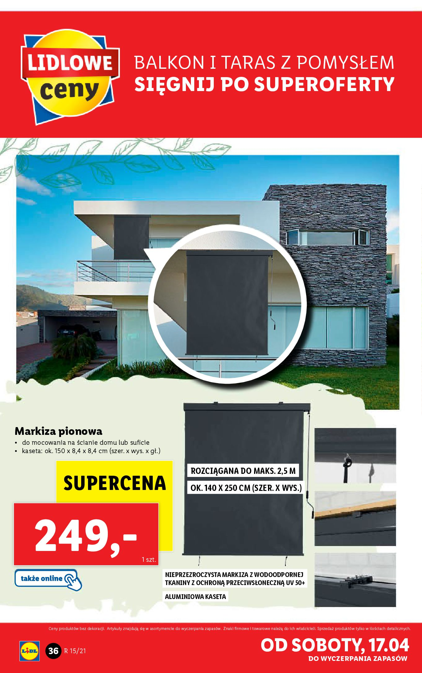 Gazetka Lidl: Katalog Lidla od 12.04 2021-04-12 page-36