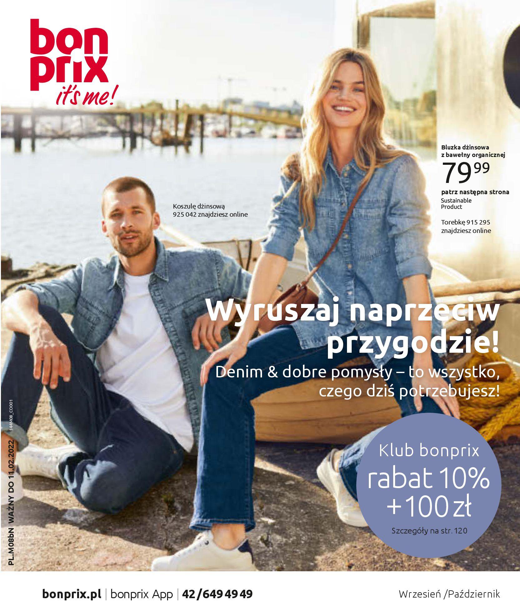 Gazetka Bonprix: Katalog Bonprix - denim 2021-09-09 page-1