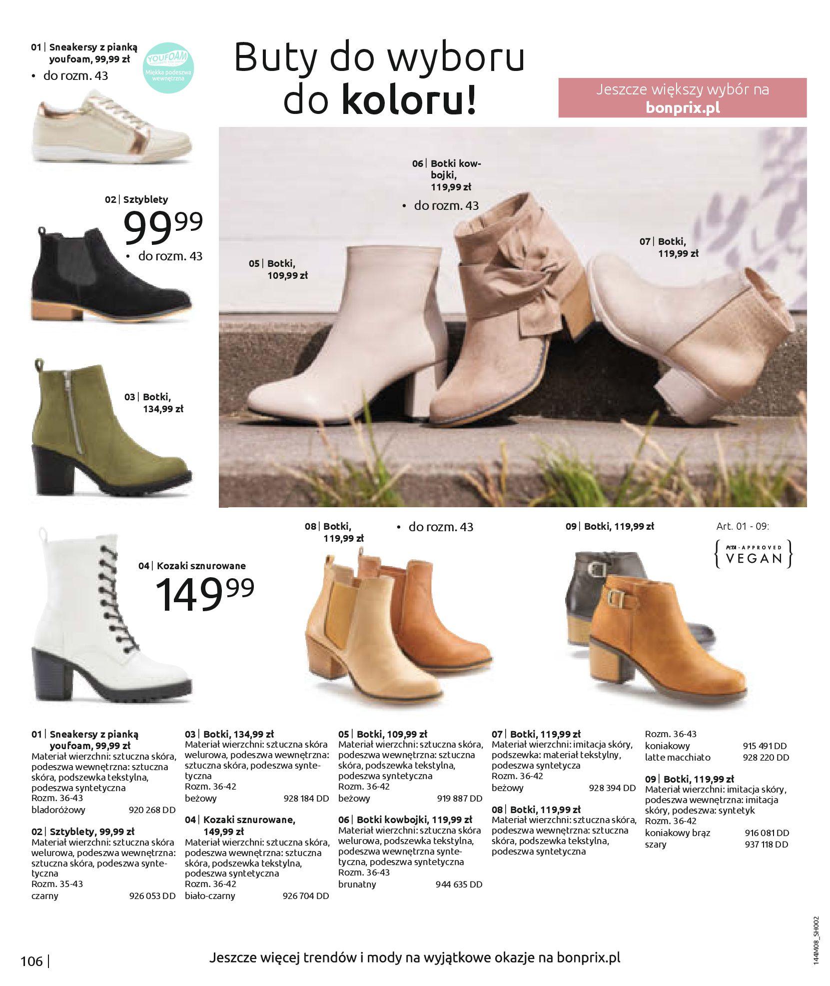 Gazetka Bonprix: Katalog Bonprix - denim 2021-09-09 page-108