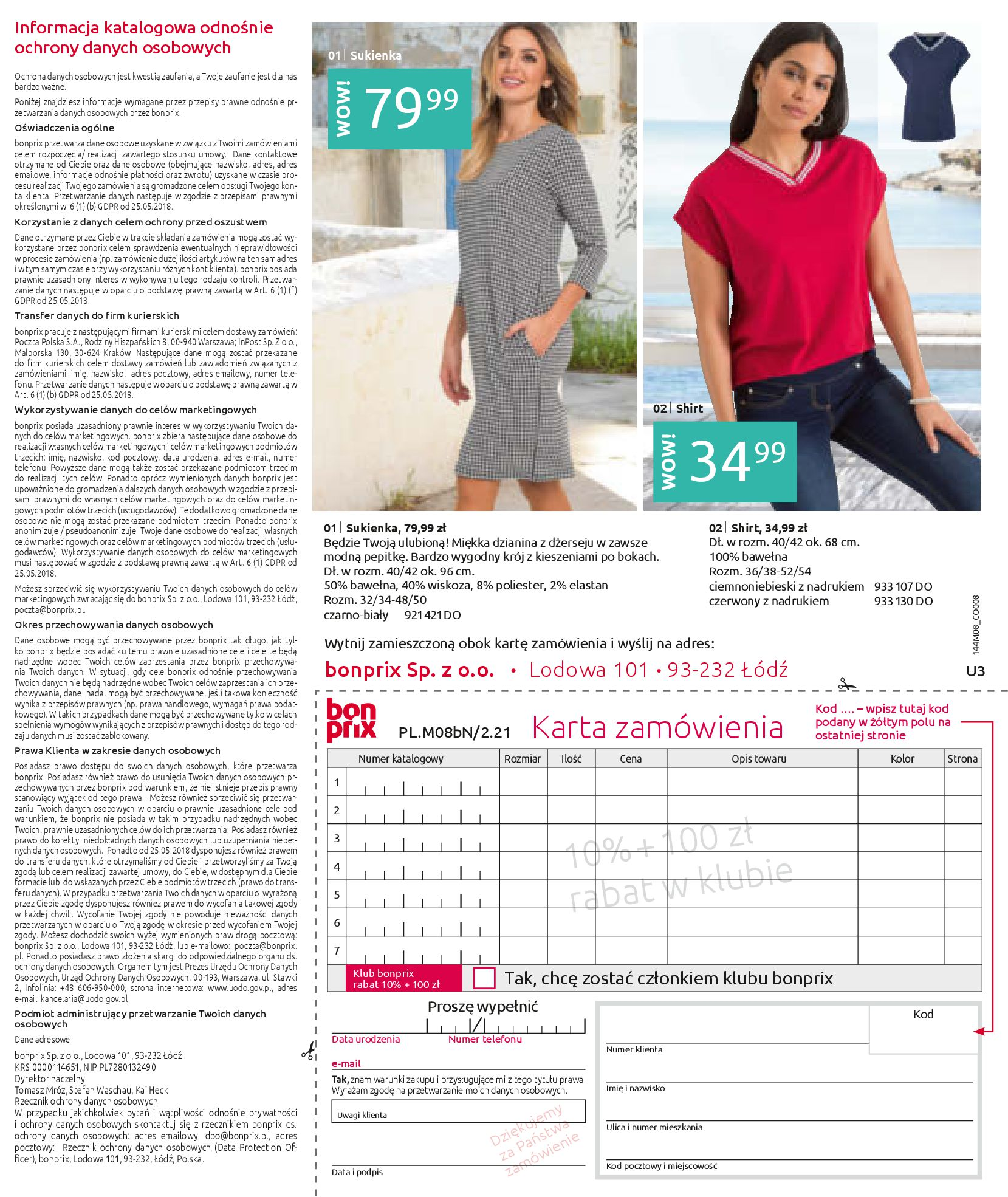 Gazetka Bonprix: Katalog Bonprix - denim 2021-09-09 page-147