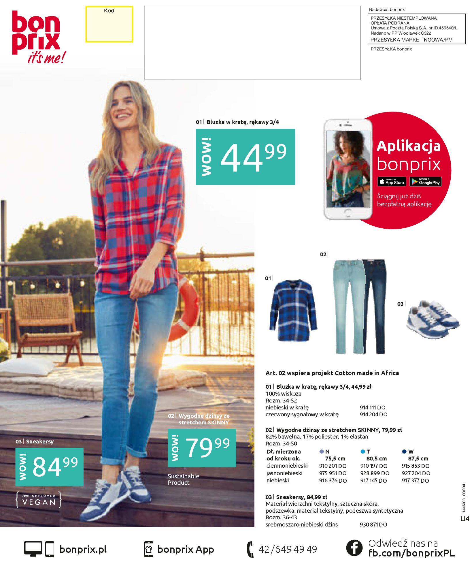 Gazetka Bonprix: Katalog Bonprix - denim 2021-09-09 page-148