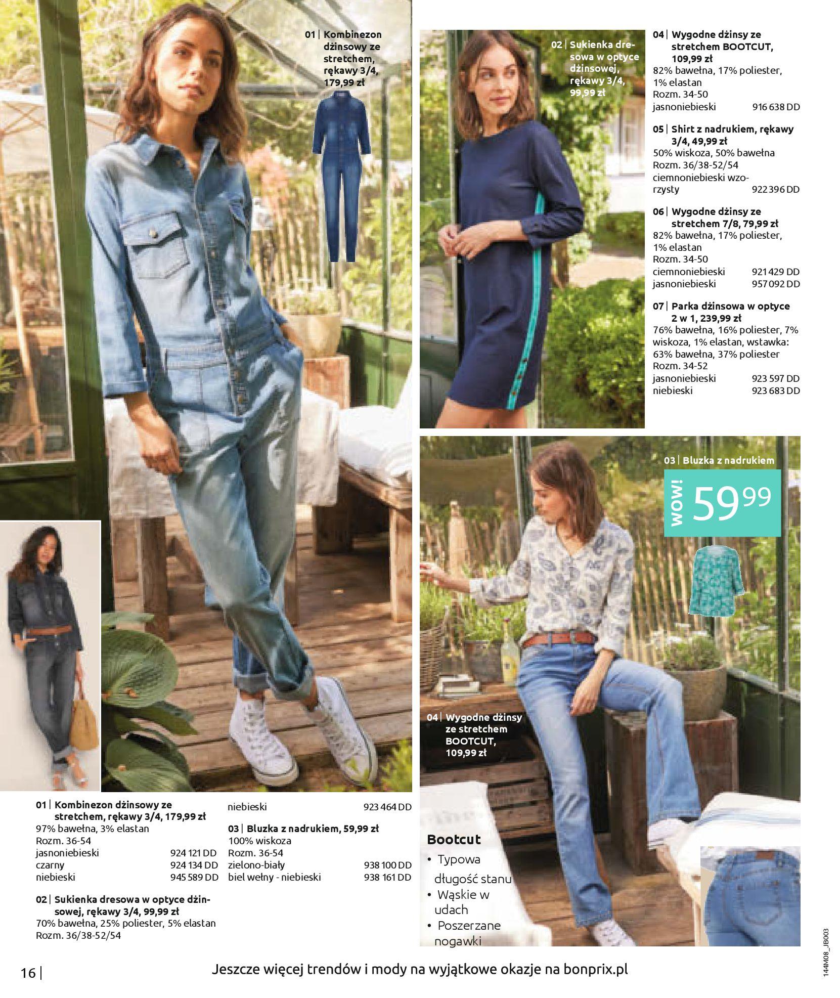 Gazetka Bonprix: Katalog Bonprix - denim 2021-09-09 page-18