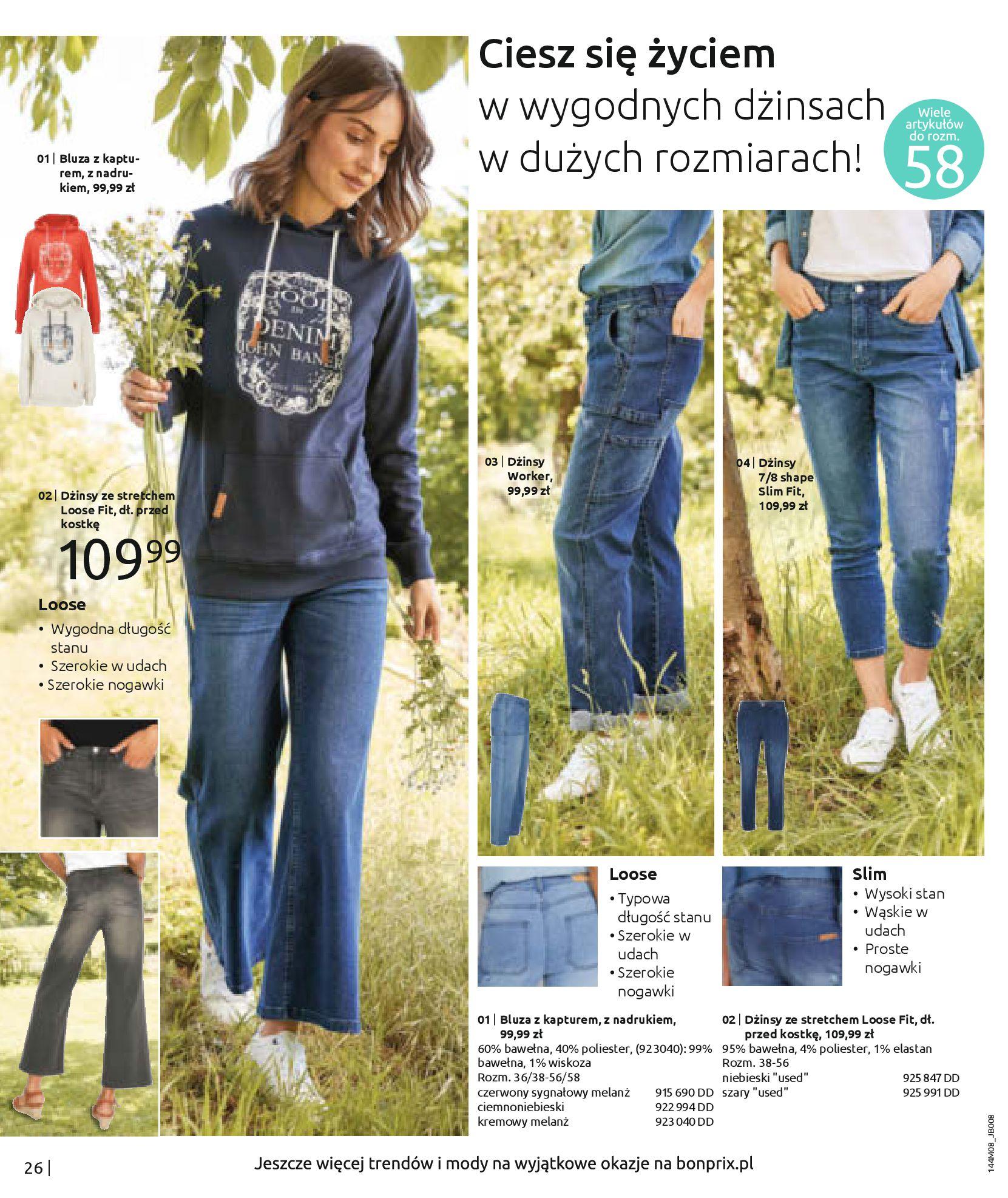 Gazetka Bonprix: Katalog Bonprix - denim 2021-09-09 page-28