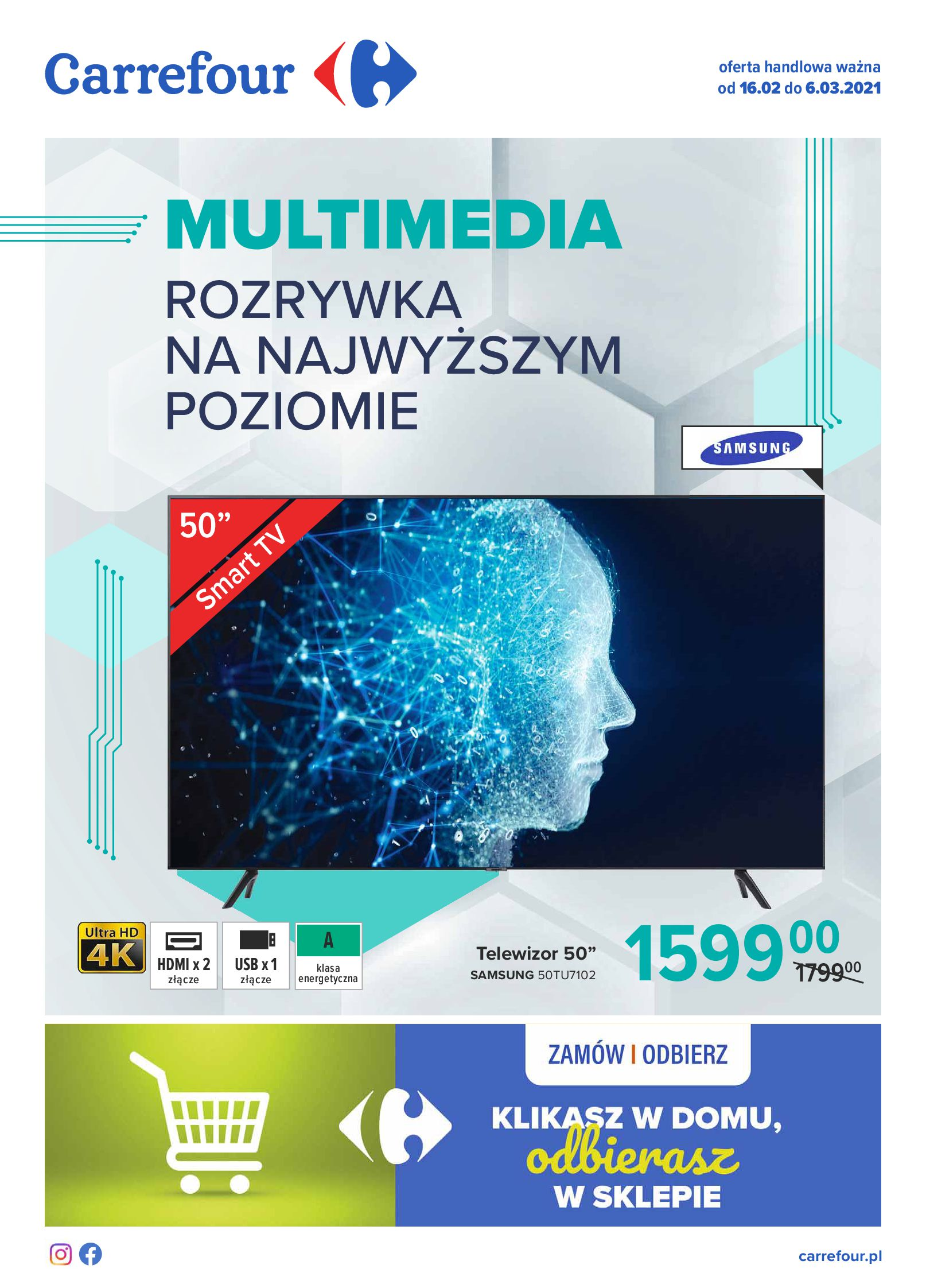 Gazetka Carrefour: Gazetka Multimedia 2021-02-16 page-1