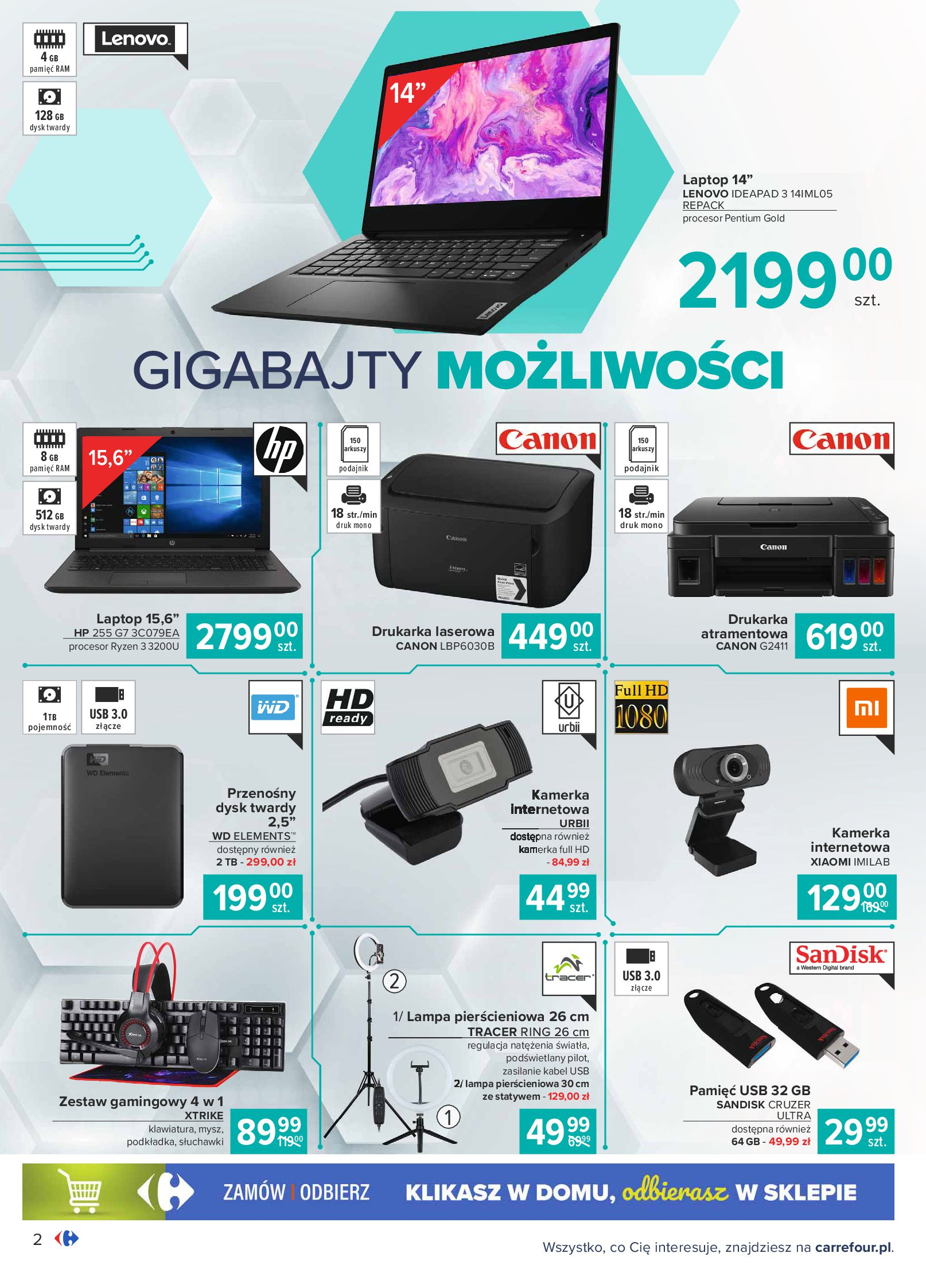 Gazetka Carrefour: Gazetka Multimedia 2021-02-16 page-2