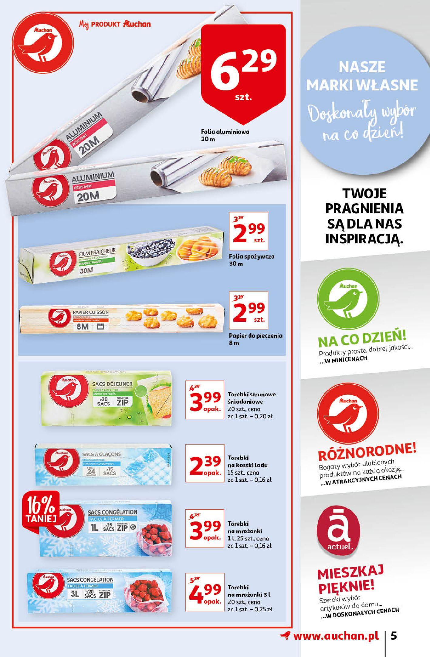 Gazetka Auchan: Gazetka Auchan - Porządki Hipermarkety 2021-09-16 page-5