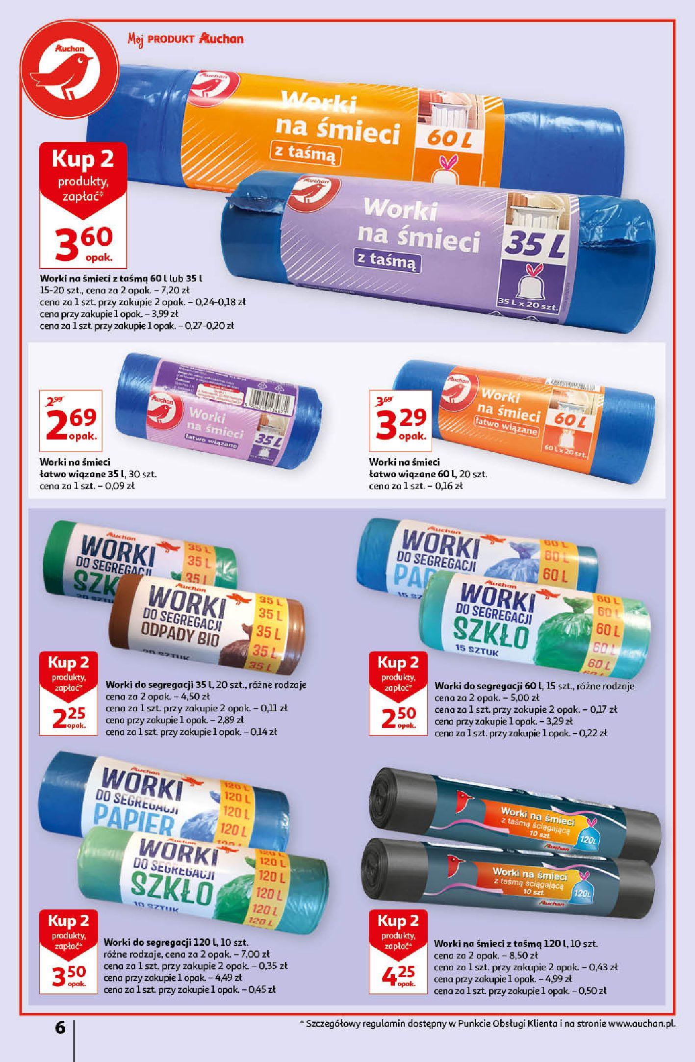 Gazetka Auchan: Gazetka Auchan - Porządki Hipermarkety 2021-09-16 page-6