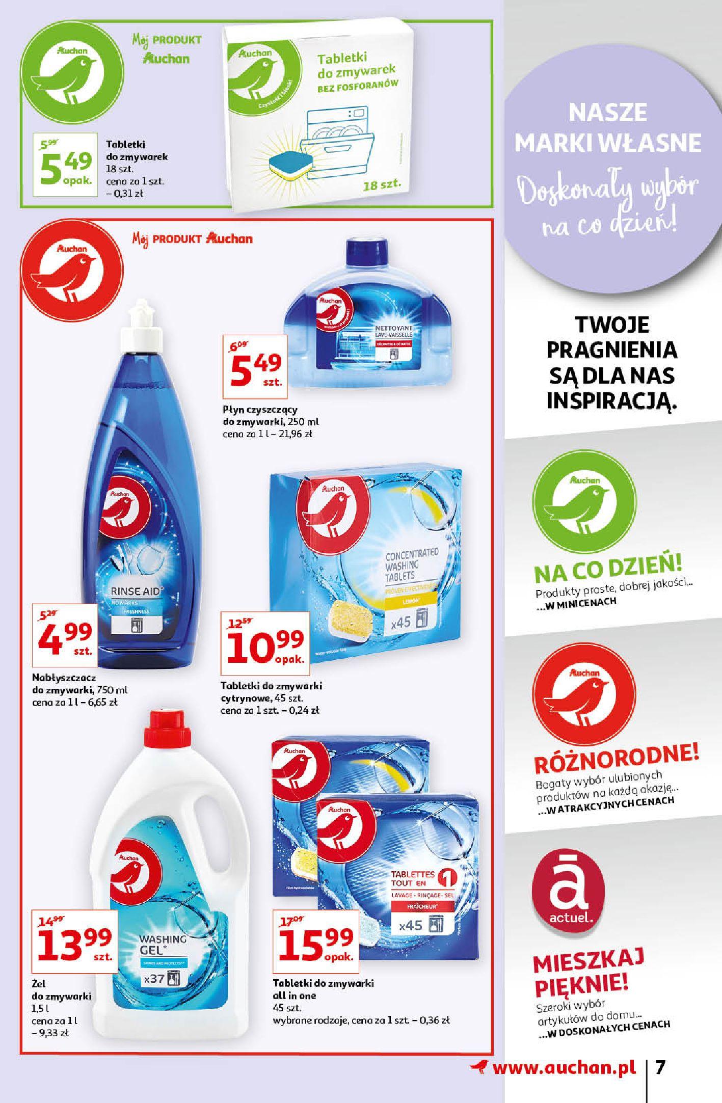 Gazetka Auchan: Gazetka Auchan - Porządki Hipermarkety 2021-09-16 page-7