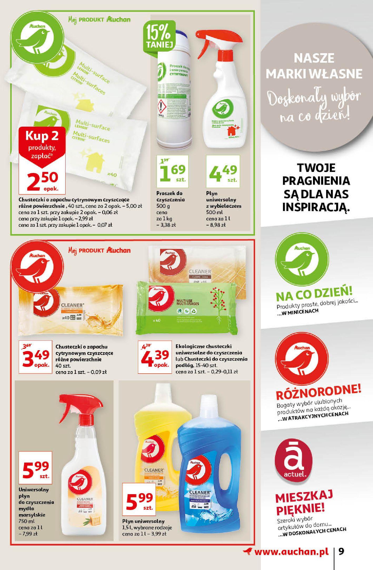 Gazetka Auchan: Gazetka Auchan - Porządki Hipermarkety 2021-09-16 page-9