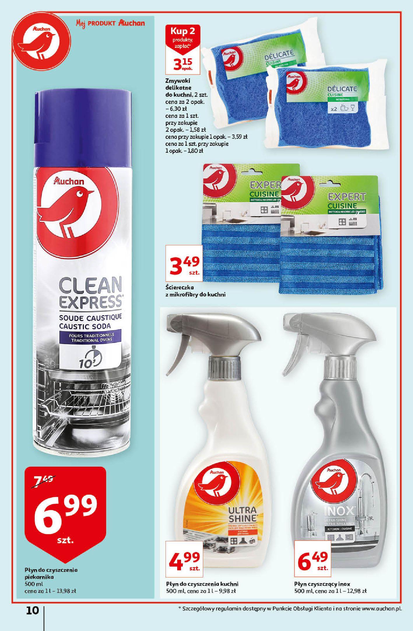 Gazetka Auchan: Gazetka Auchan - Porządki Hipermarkety 2021-09-16 page-10