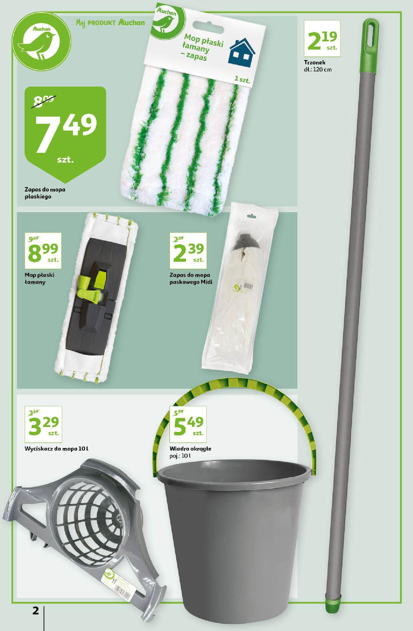 Gazetka Auchan: Gazetka Auchan - Porządki Hipermarkety 2021-09-16 page-2