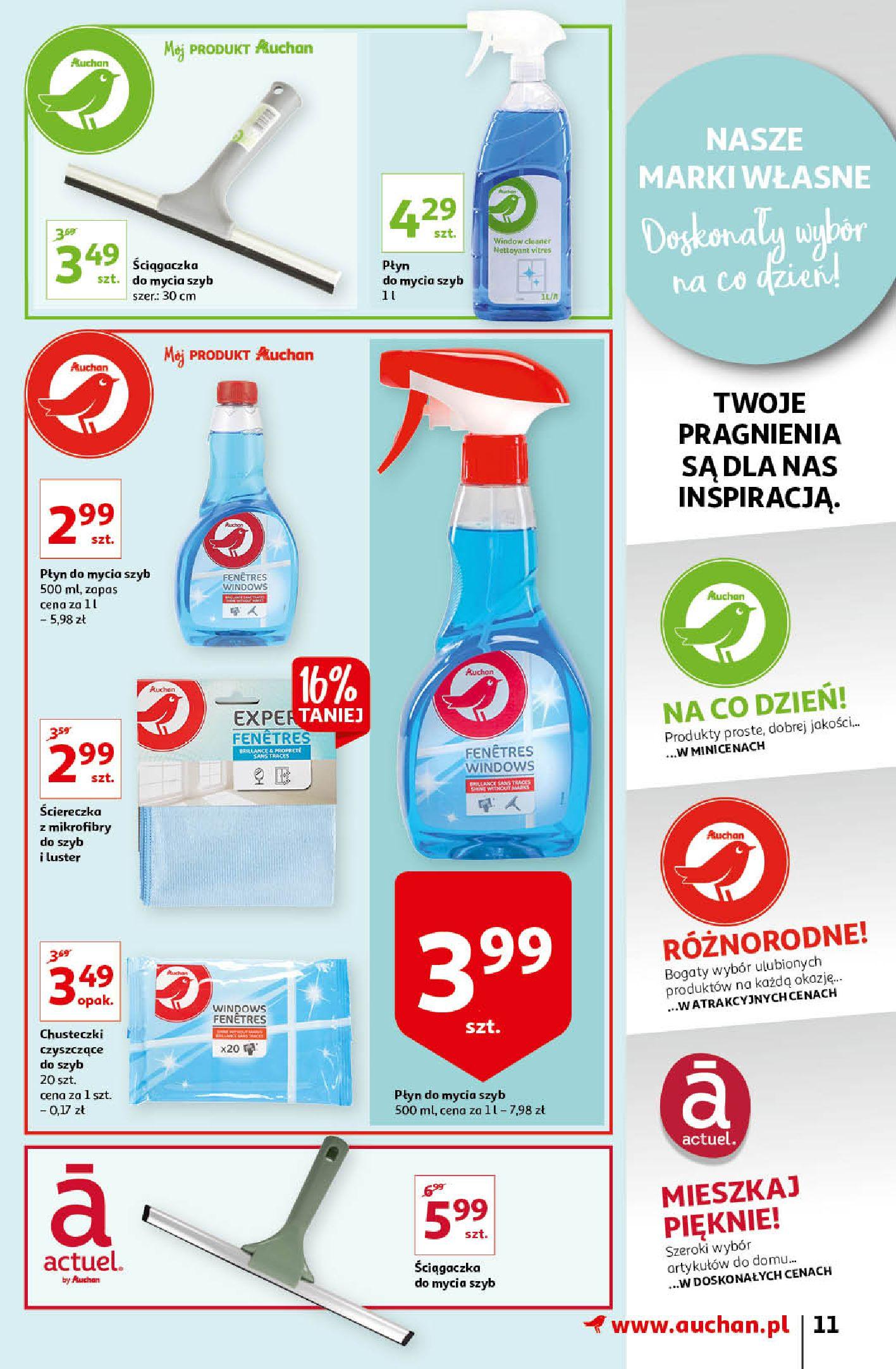 Gazetka Auchan: Gazetka Auchan - Porządki Hipermarkety 2021-09-16 page-11