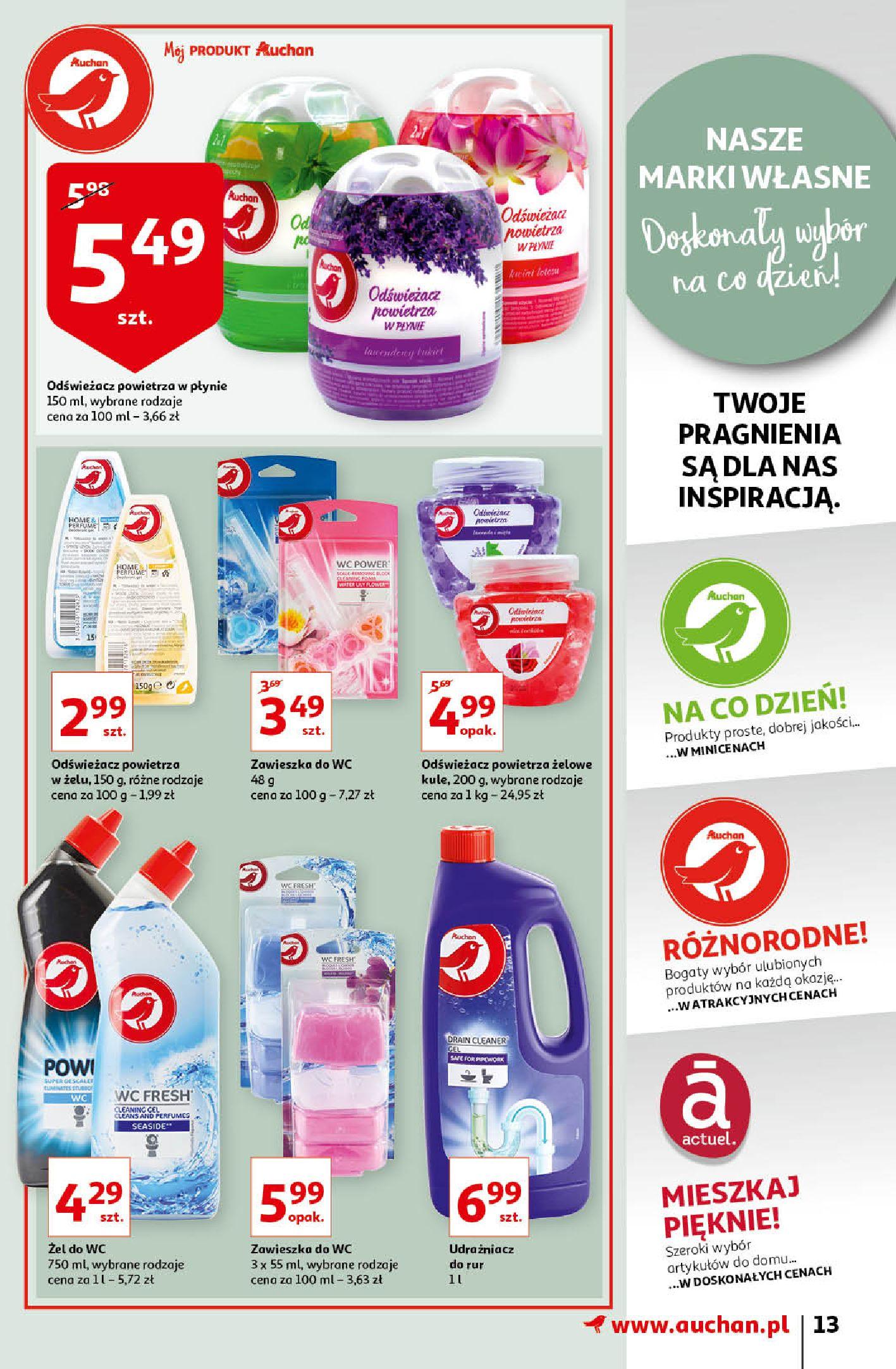 Gazetka Auchan: Gazetka Auchan - Porządki Hipermarkety 2021-09-16 page-13
