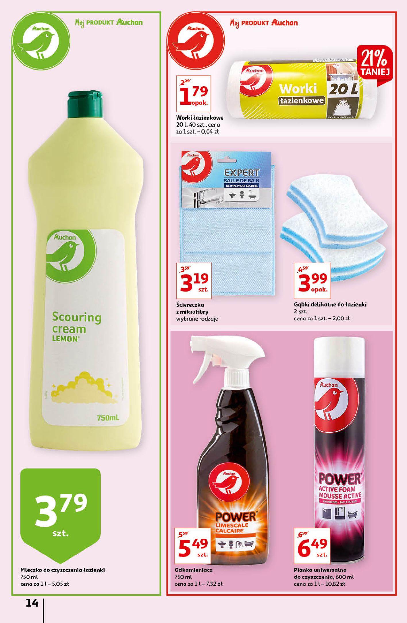 Gazetka Auchan: Gazetka Auchan - Porządki Hipermarkety 2021-09-16 page-14