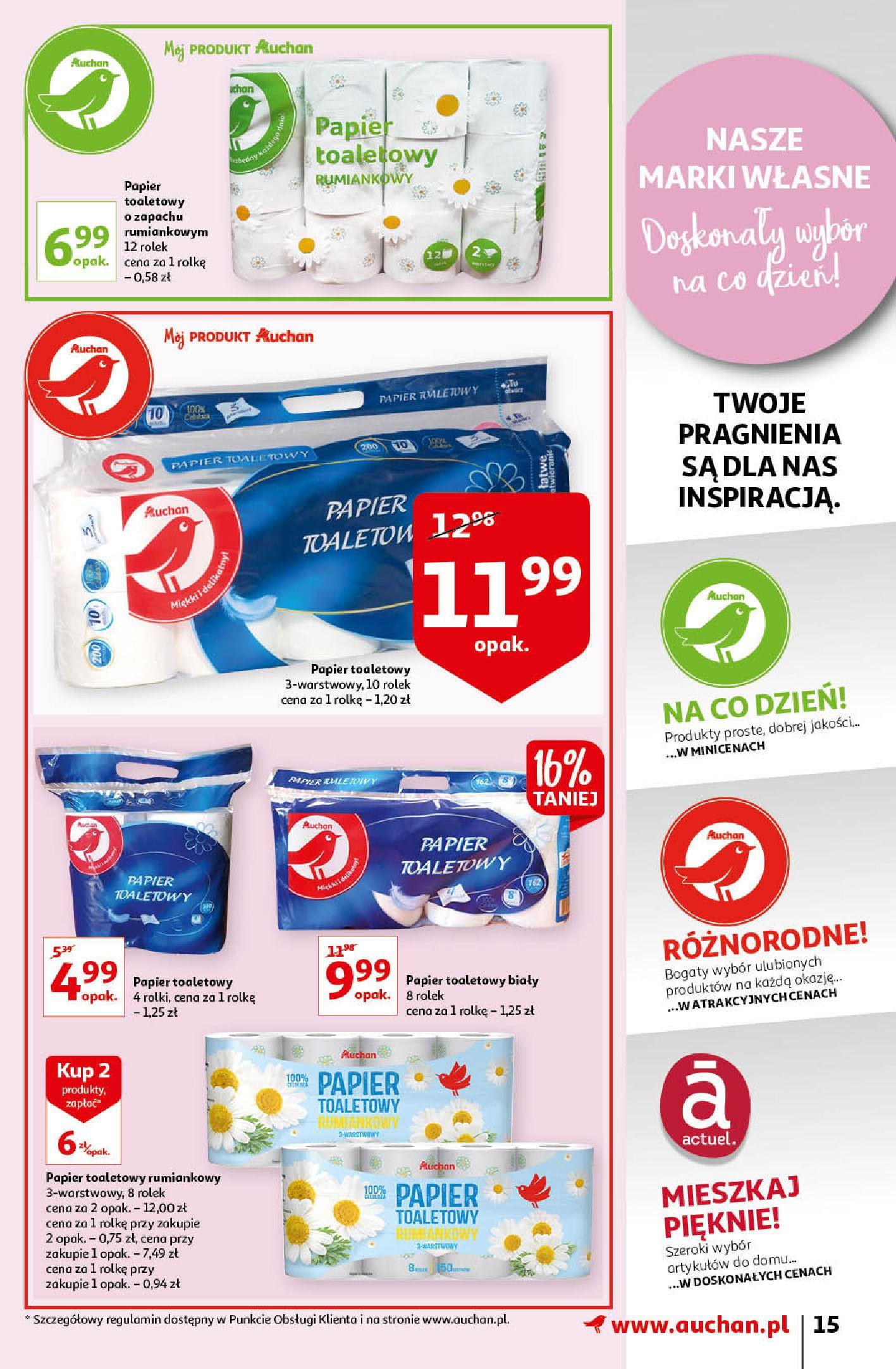 Gazetka Auchan: Gazetka Auchan - Porządki Hipermarkety 2021-09-16 page-15