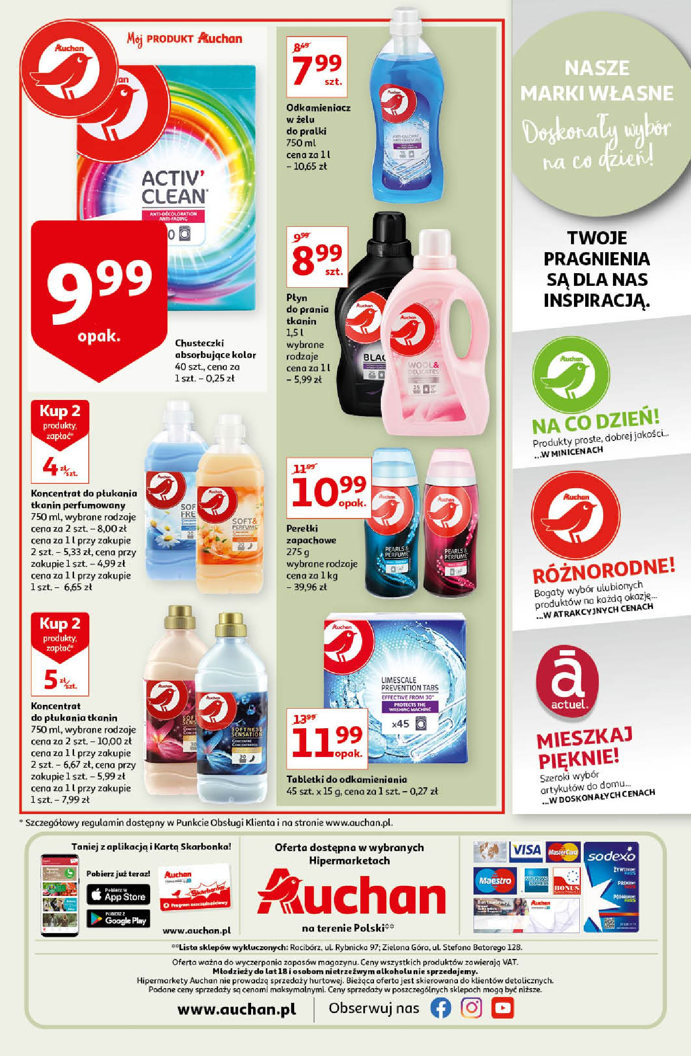 Gazetka Auchan: Gazetka Auchan - Porządki Hipermarkety 2021-09-16 page-16