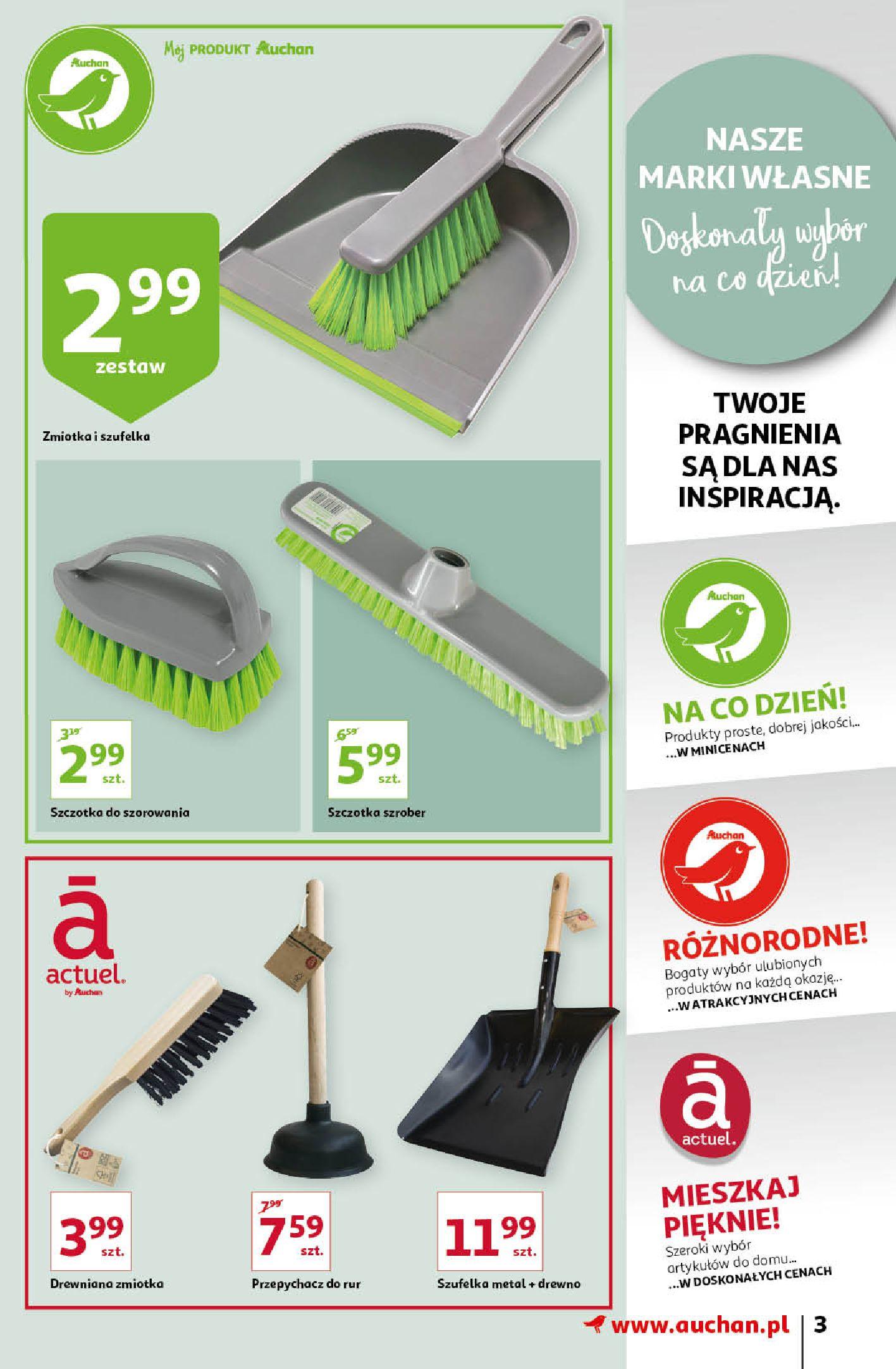Gazetka Auchan: Gazetka Auchan - Porządki Hipermarkety 2021-09-16 page-3