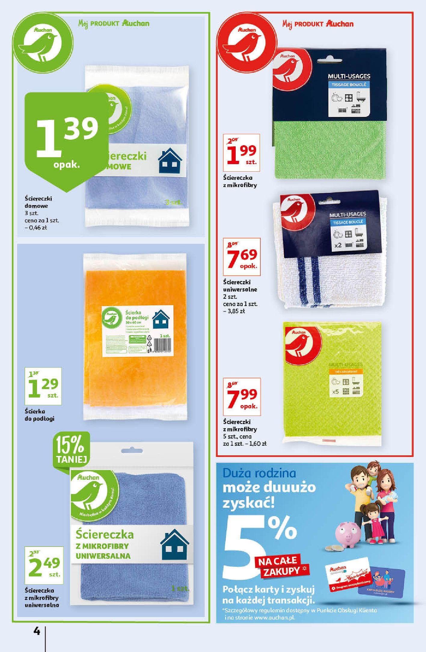 Gazetka Auchan: Gazetka Auchan - Porządki Hipermarkety 2021-09-16 page-4